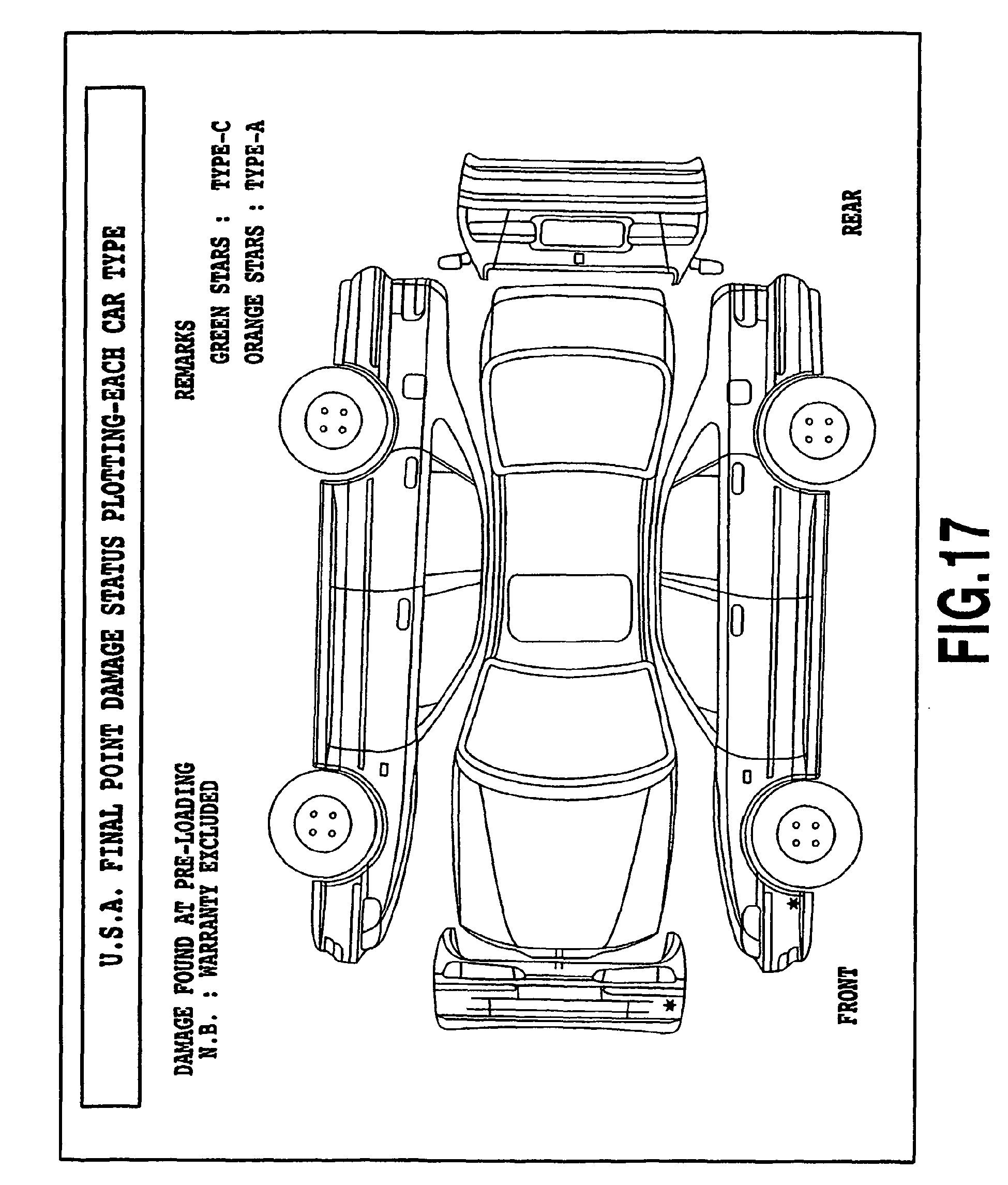 car damage diagram sheet frame wiring sketch coloring page