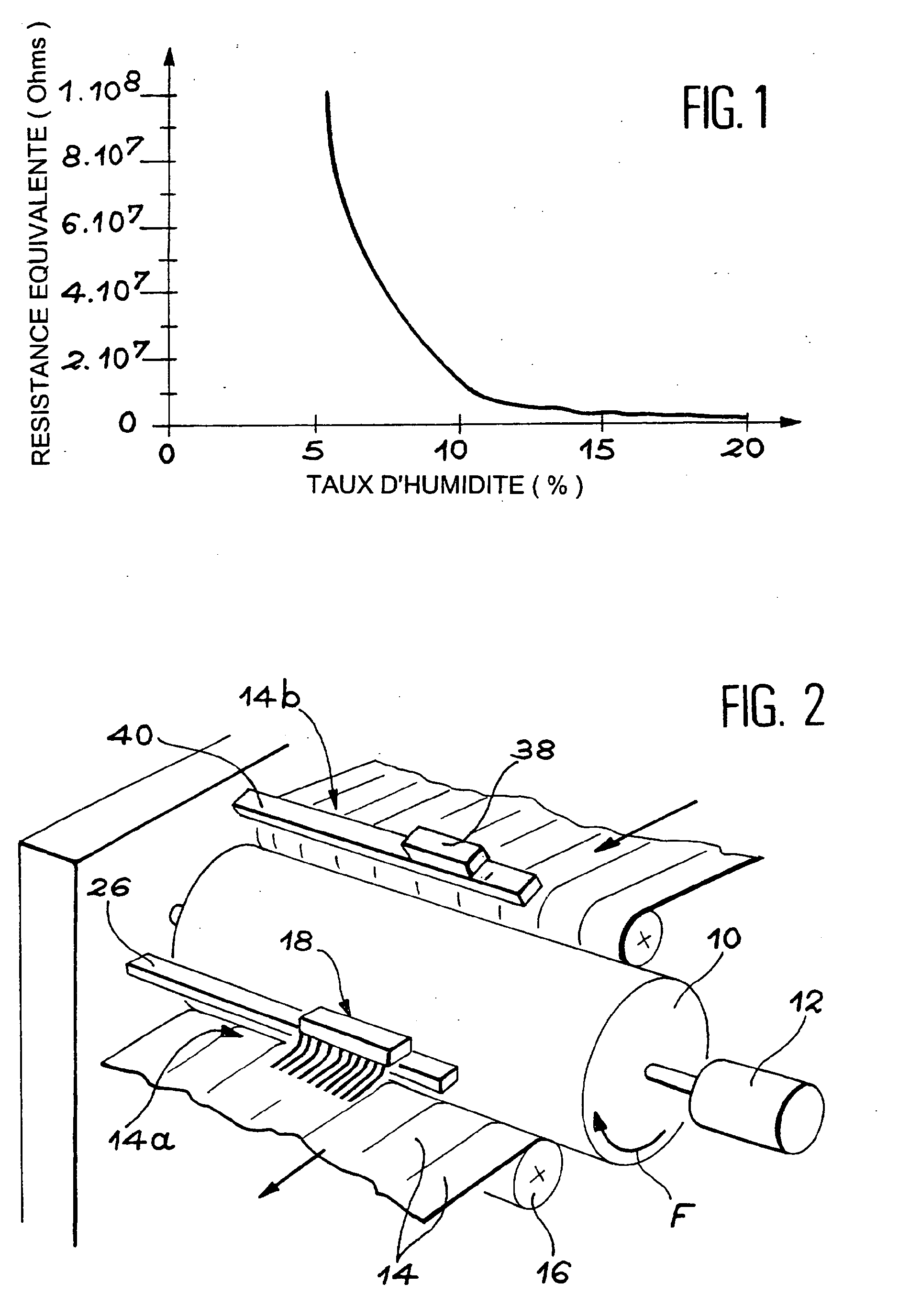 patent ep1306481b1 procede de controle du taux d 39 humidite du linge sortant d 39 une secheuse. Black Bedroom Furniture Sets. Home Design Ideas