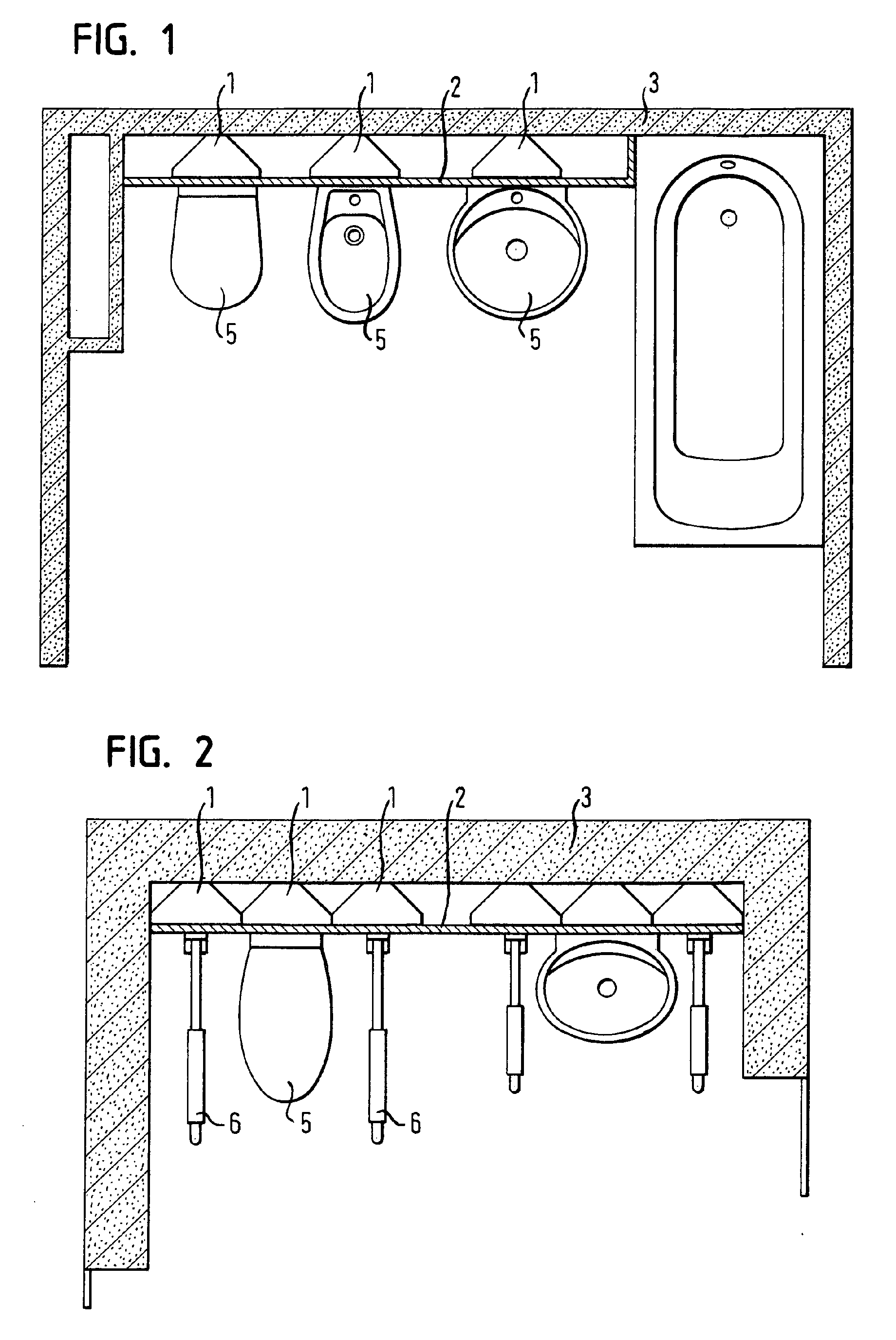 Patent EP1308564A2 - Supporting wall assembly - Google Patents