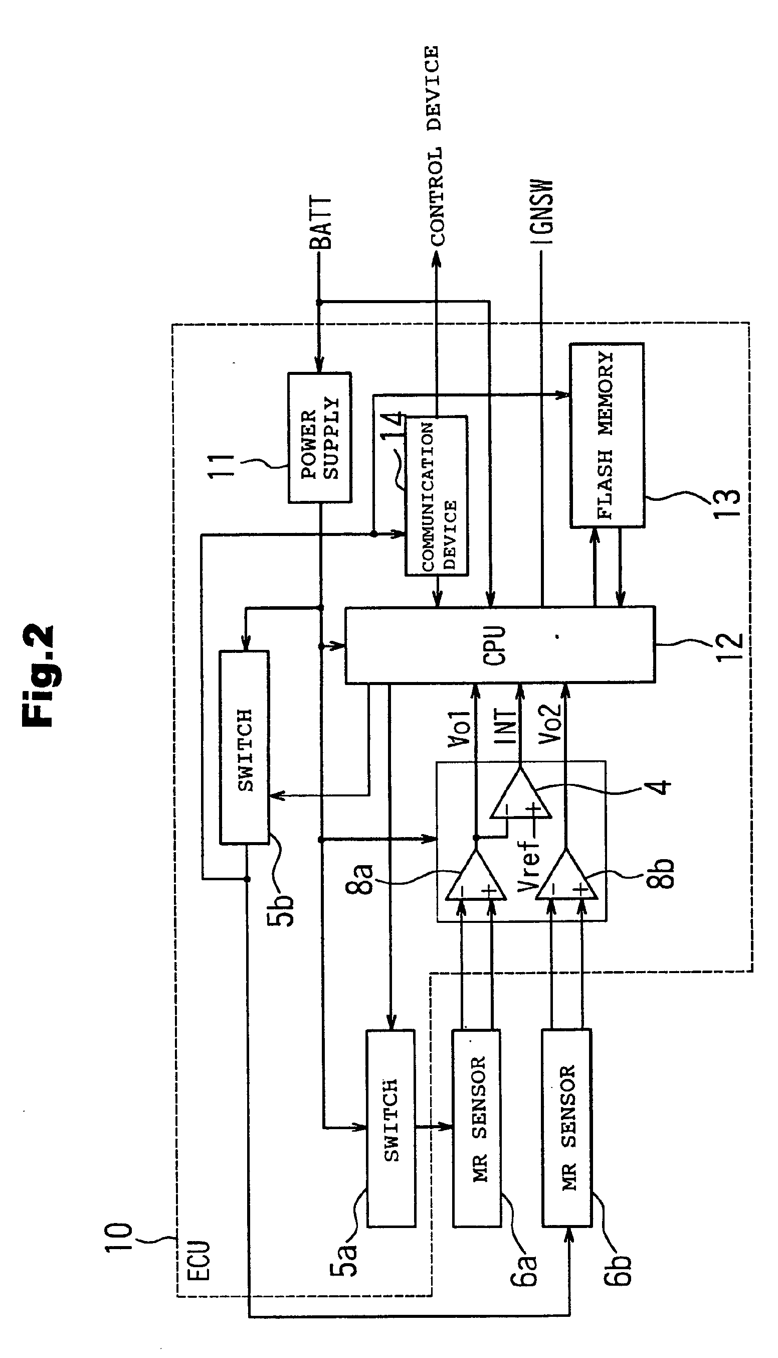 Patent Ep1323621a2 Rotation Angle Detector Google Patents
