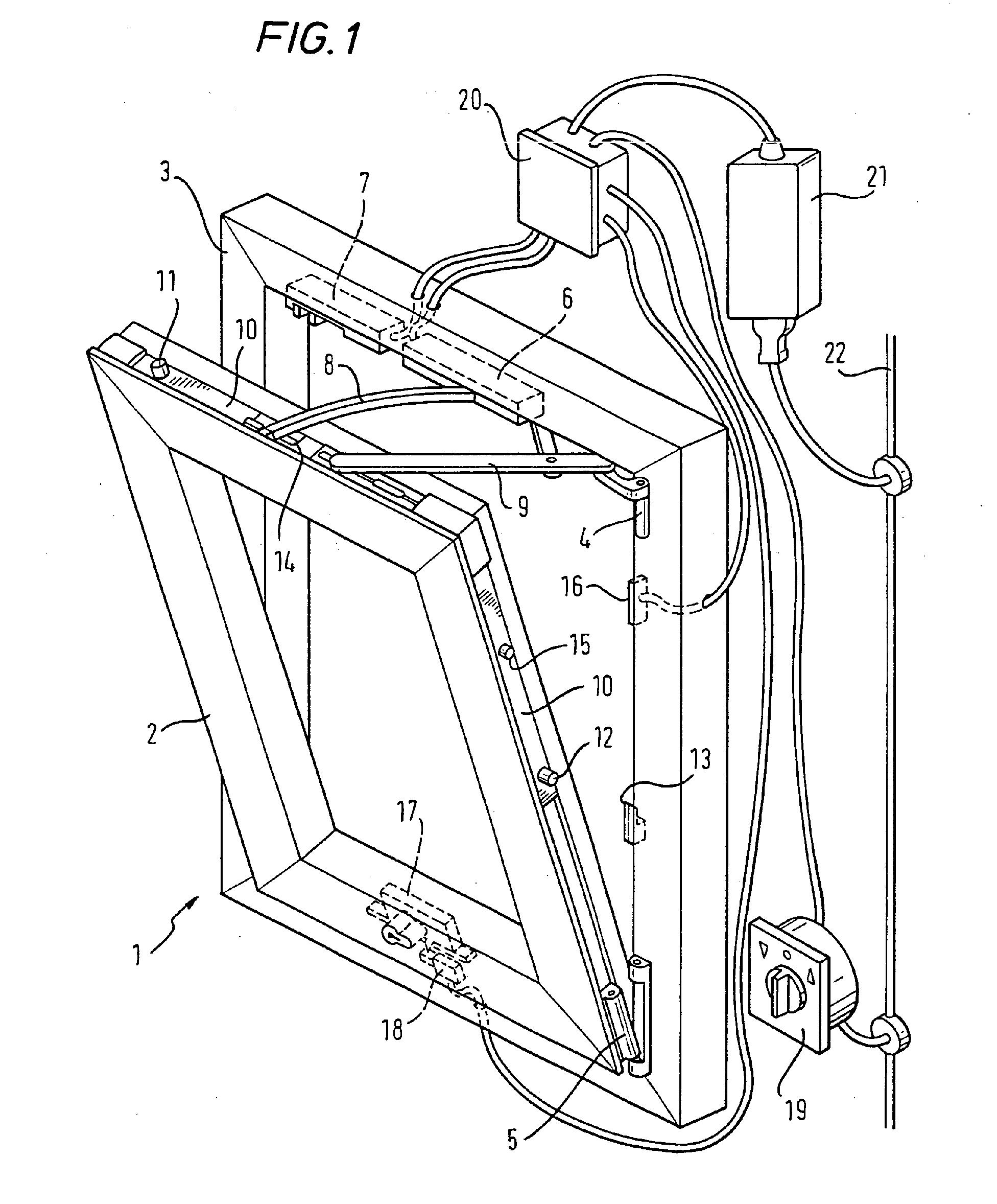 patent ep1323885a2 verfahren und vorrichtung zum ansteuern von fenstern t ren oder. Black Bedroom Furniture Sets. Home Design Ideas