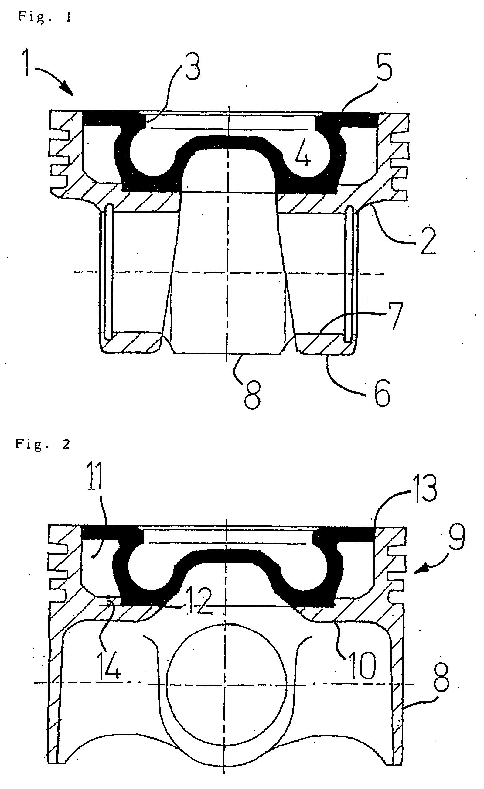 patent ep1343961b1 piston a canal de refroidissement pour moteur diesel a injection directe. Black Bedroom Furniture Sets. Home Design Ideas