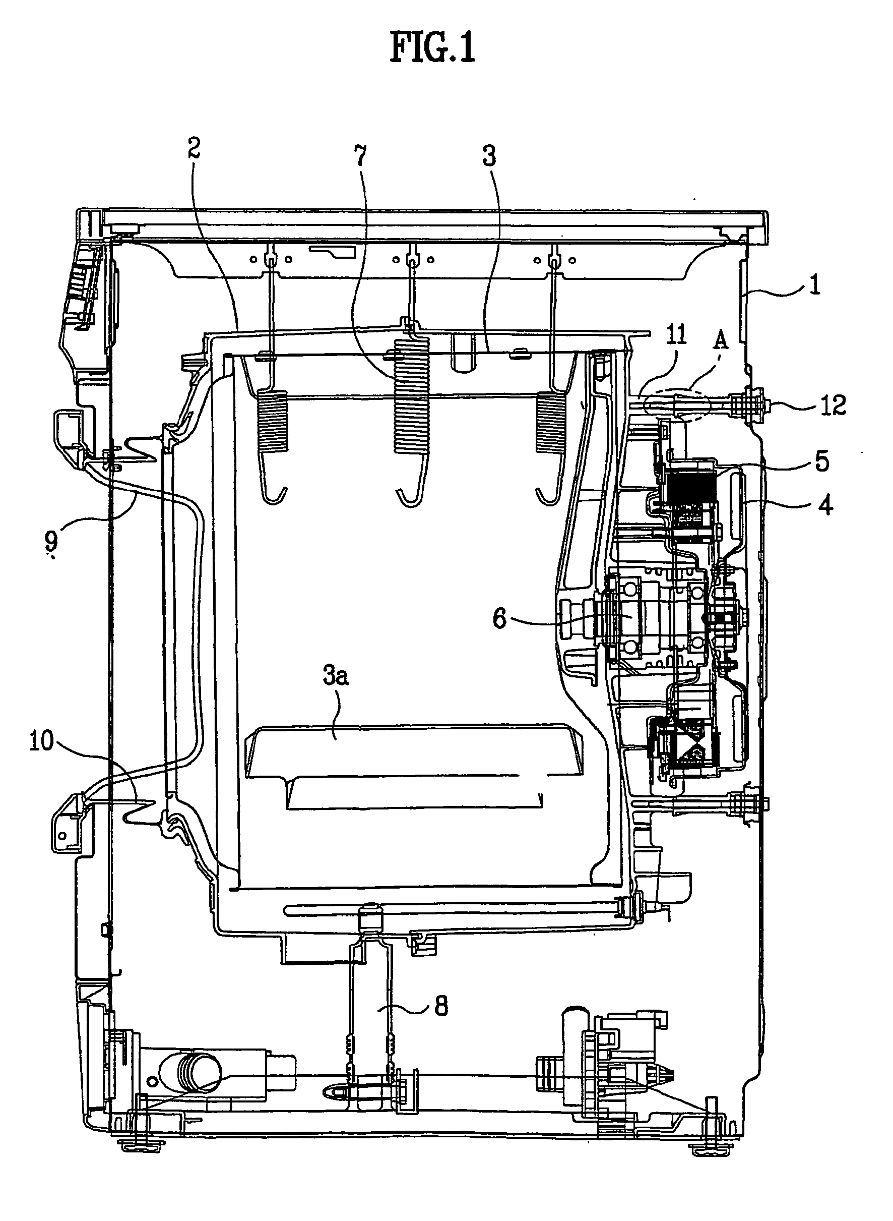 Washing Machine Drawing ~ Patent ep b device for fastening tub to move drum