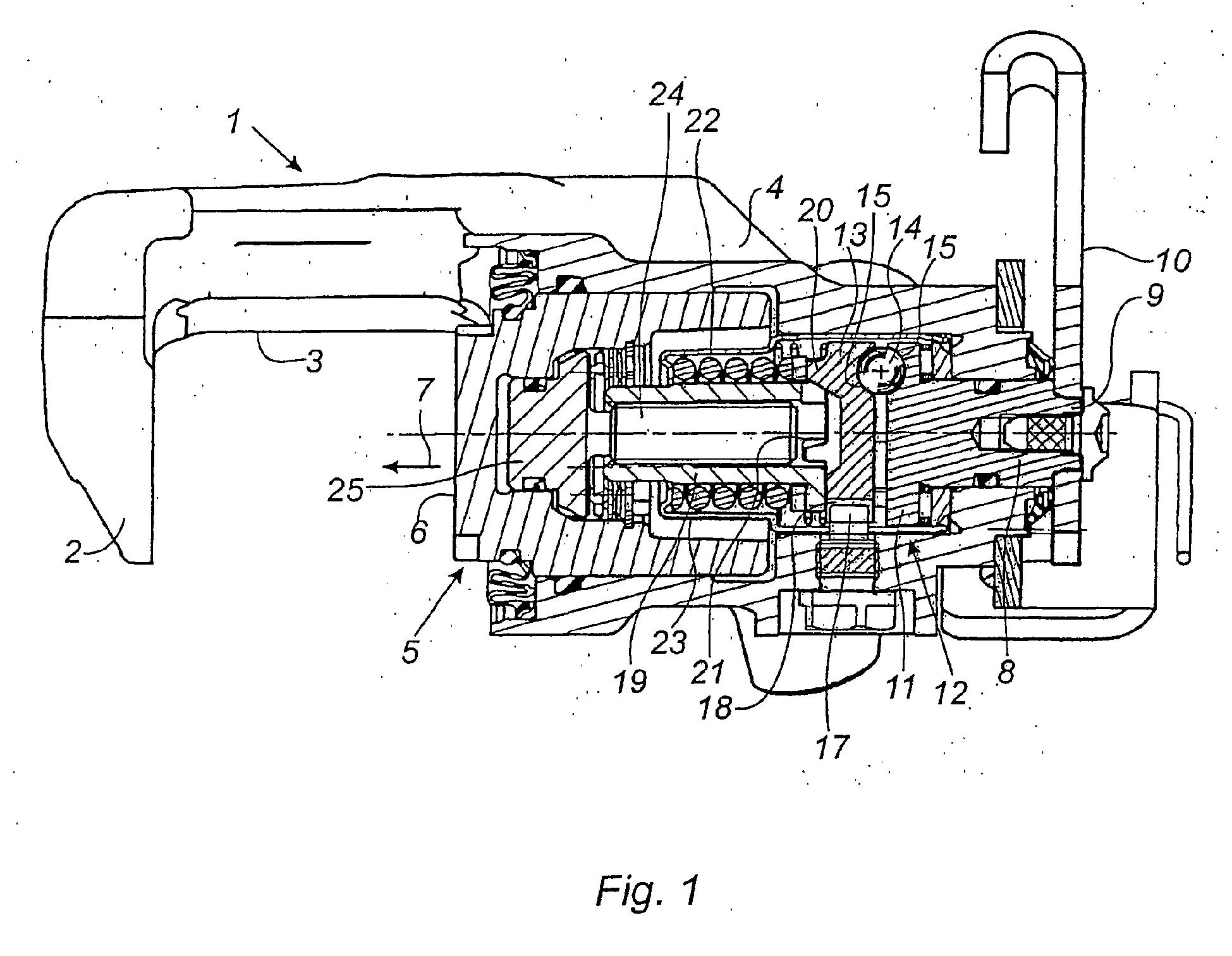 patent ep1350040b1 cylindre de frein a disque avec mecanisme de frein de parc google patents. Black Bedroom Furniture Sets. Home Design Ideas