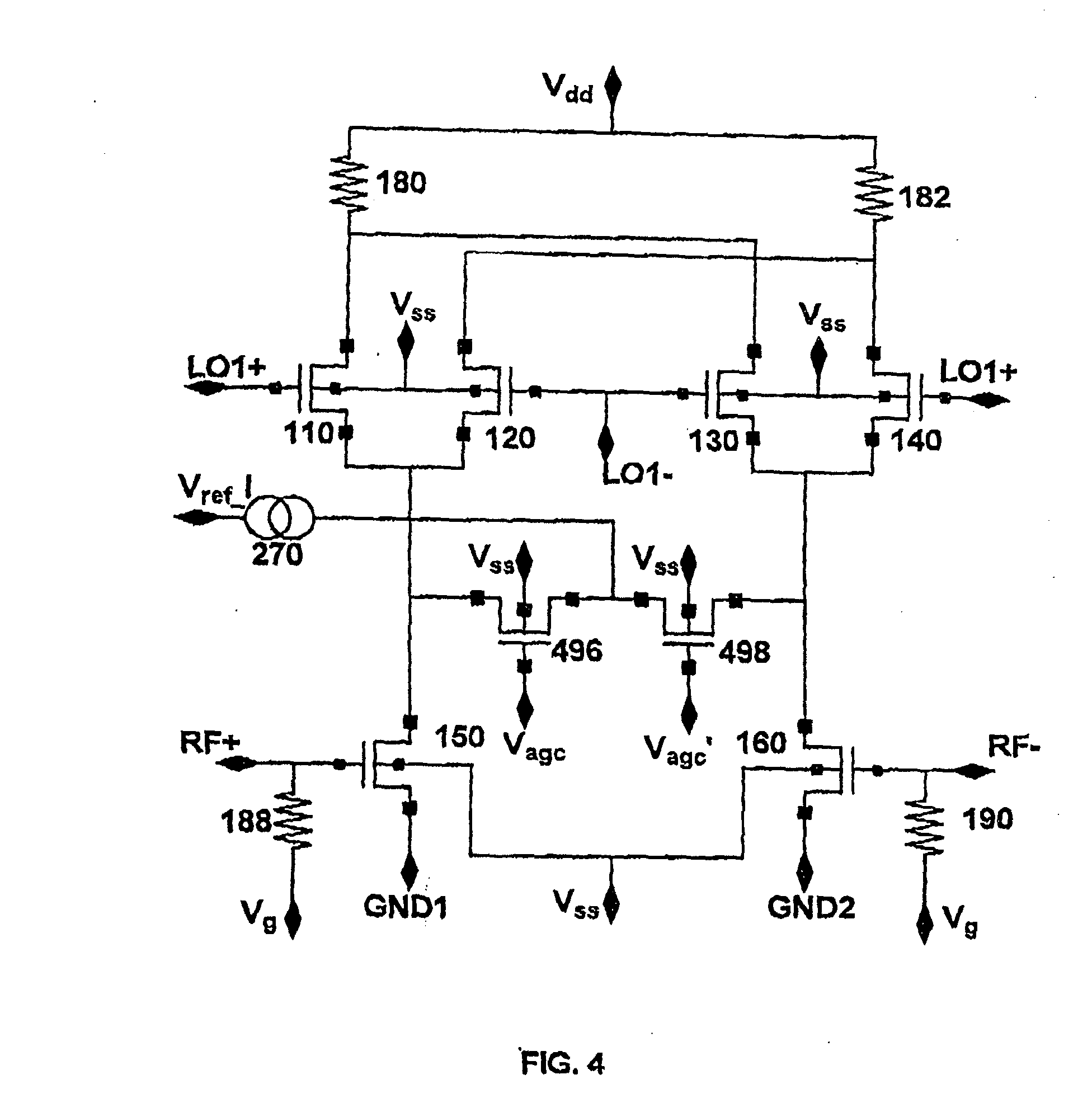 patent ep1363392a2 - gilbert cell mixer