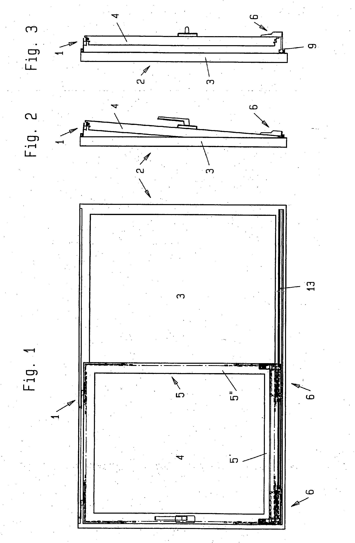Patent ep1378624a2 laufwagen f r schiebe oder kipp for Schiebe fenster