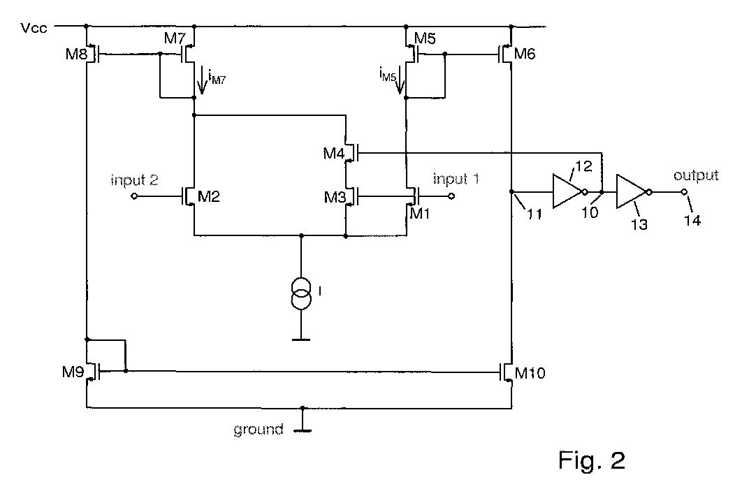 专利ep1387492a3 - comparator