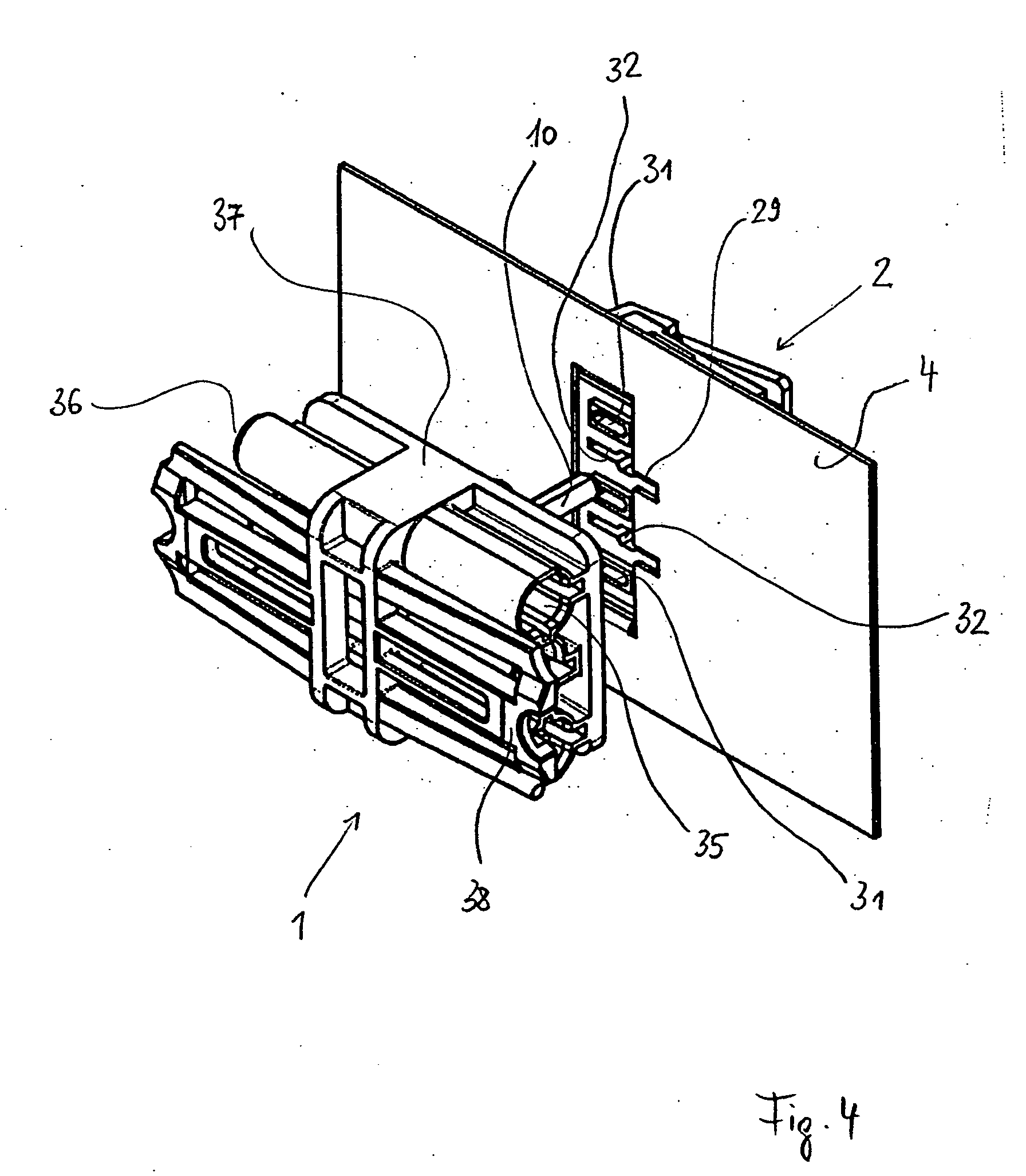 patent ep1388914a1 - anschlusssystem