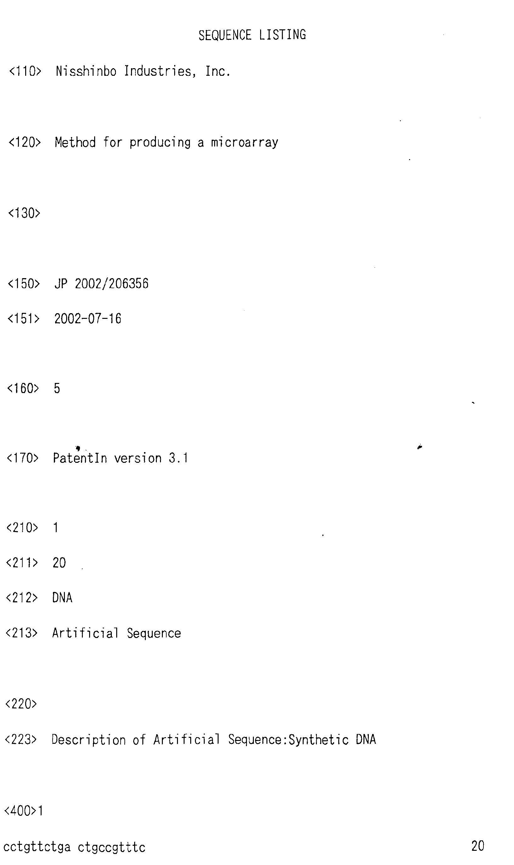 专利ep1402953a1 - method