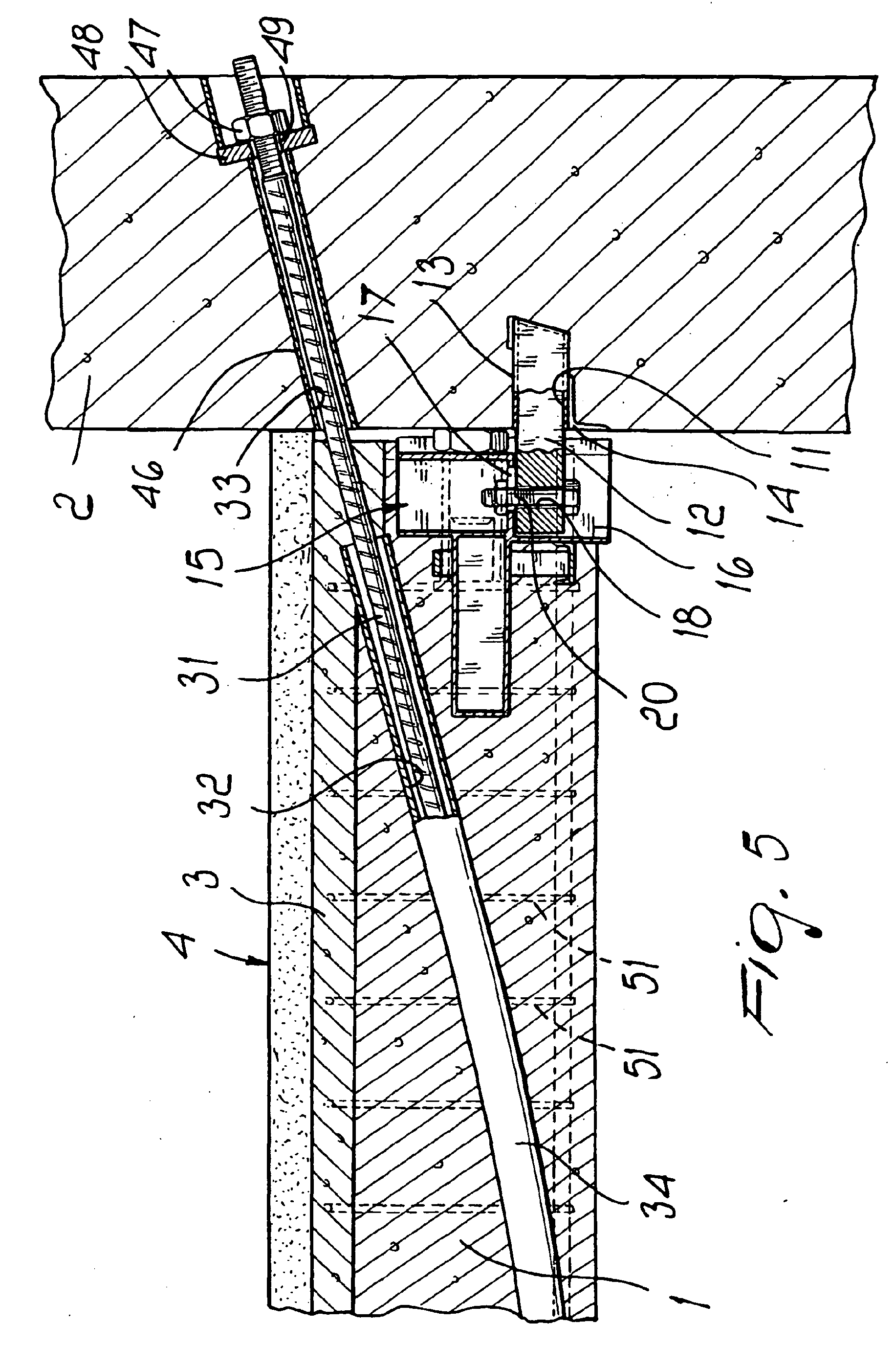 Patent EP1405958B1 - Vorrichtung zum Verbinden eines Balken an Säulen ...