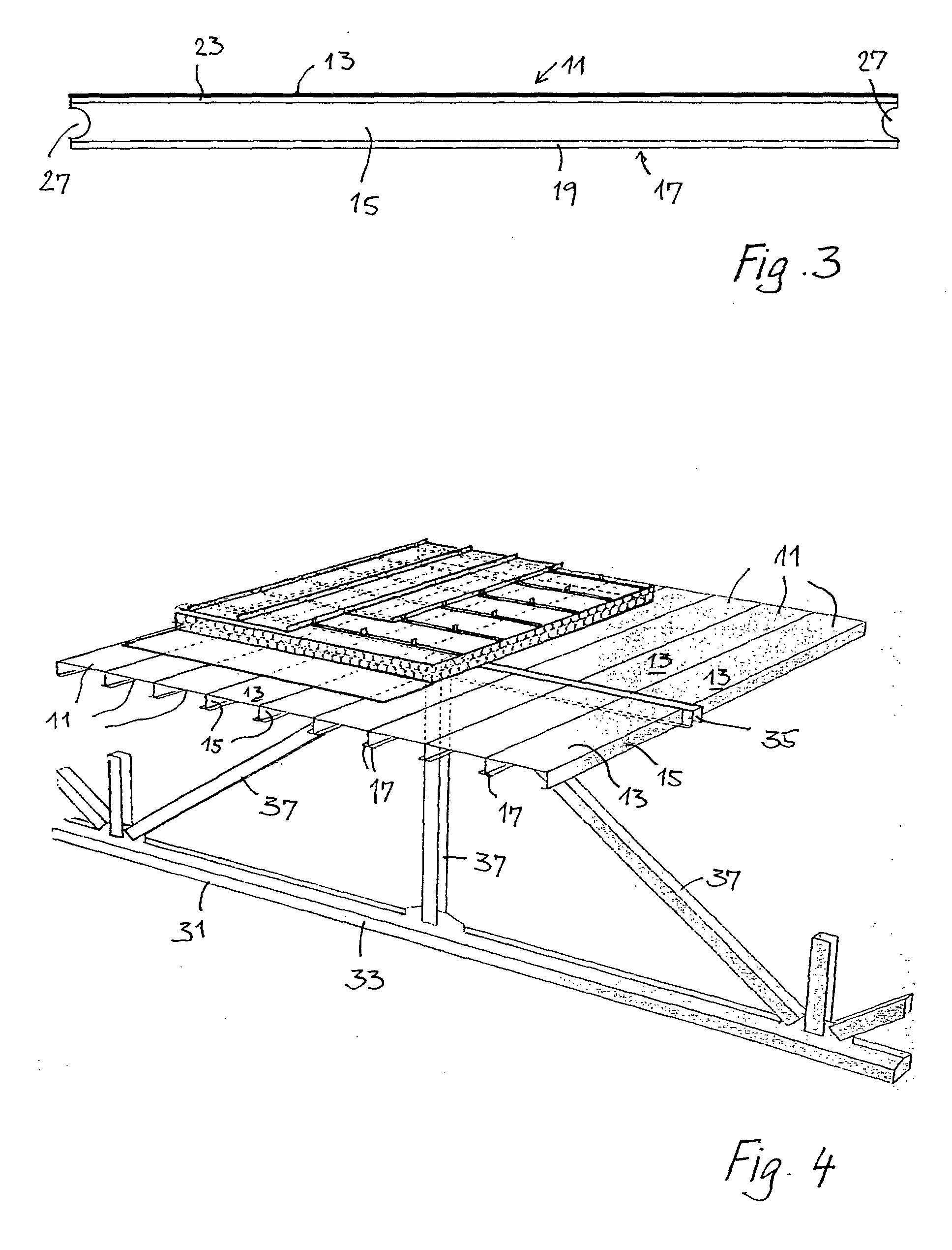 Patent ep1408172a1 bauteil aus einer mehrzahl von - Trapezblech spannweite tabelle ...
