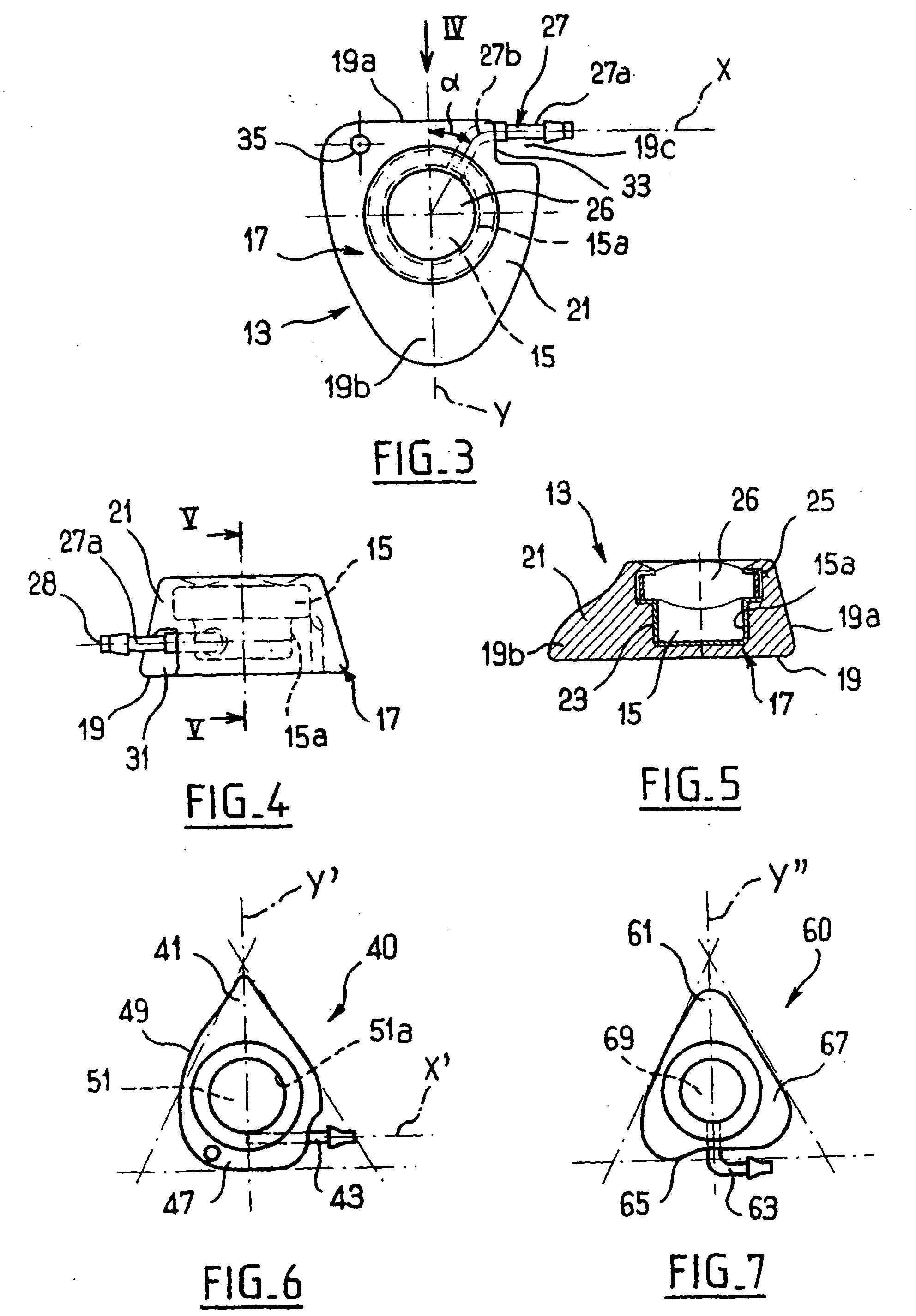 Patent ep1413329b1 chambre implantable par voie sous for Chambre implantable