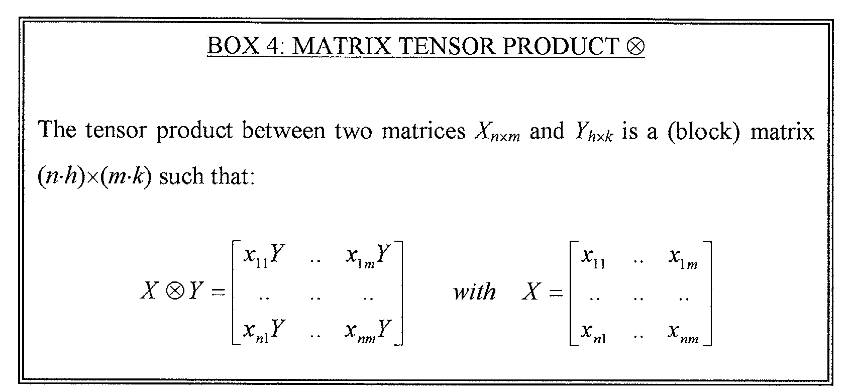 Figure 00070002 example matrix tensor product