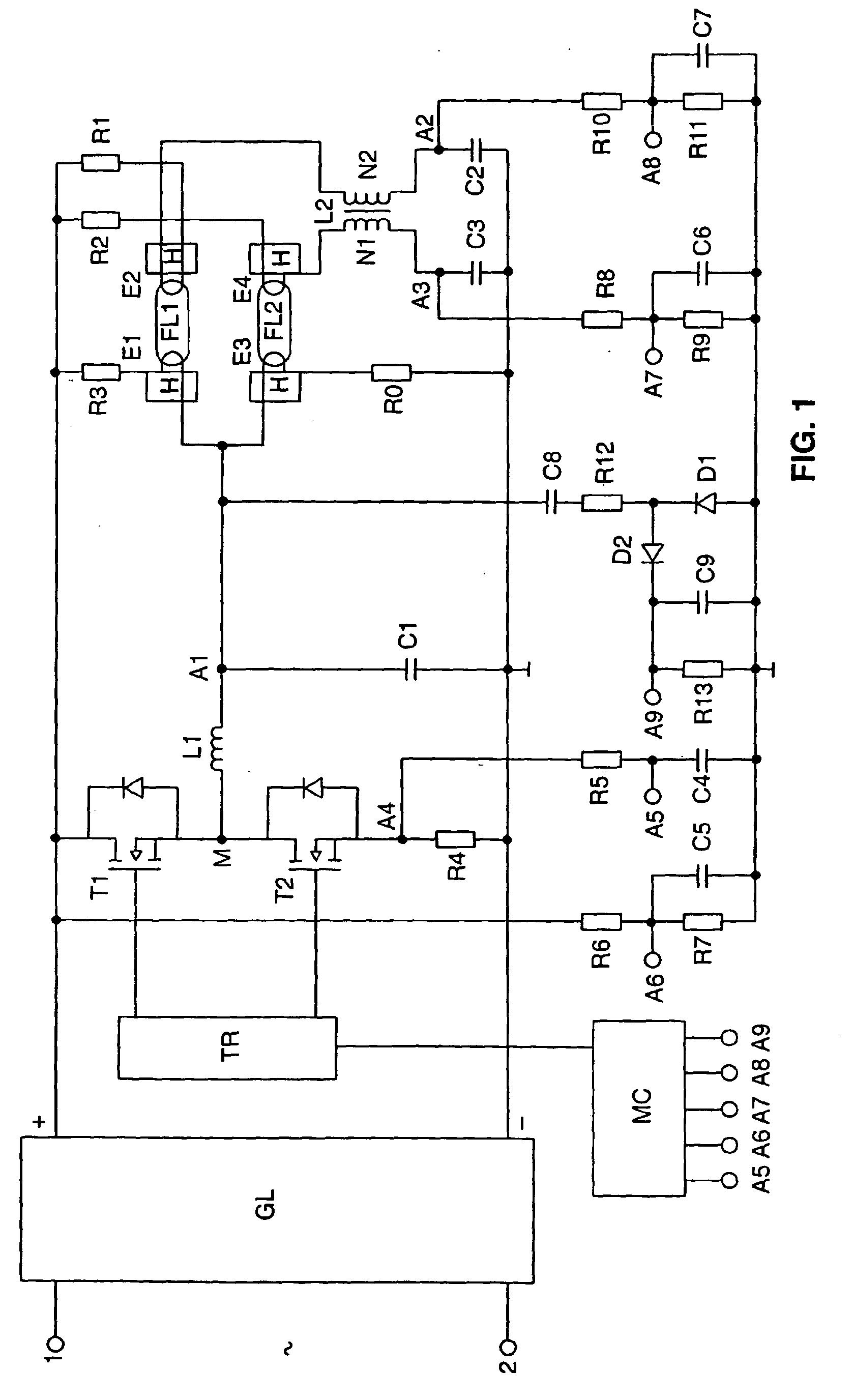 imgf0001 Spannende Elektronisches Vorschaltgerät Leuchtstofflampe Schaltplan Dekorationen