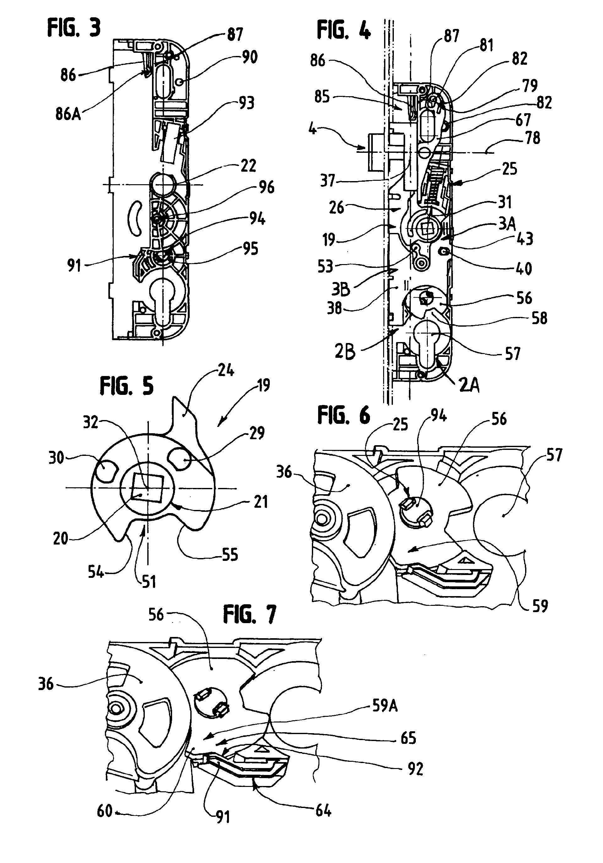 patent ep1431484a1 cr mone barillet pour porte fen tre ou analogue google patents. Black Bedroom Furniture Sets. Home Design Ideas