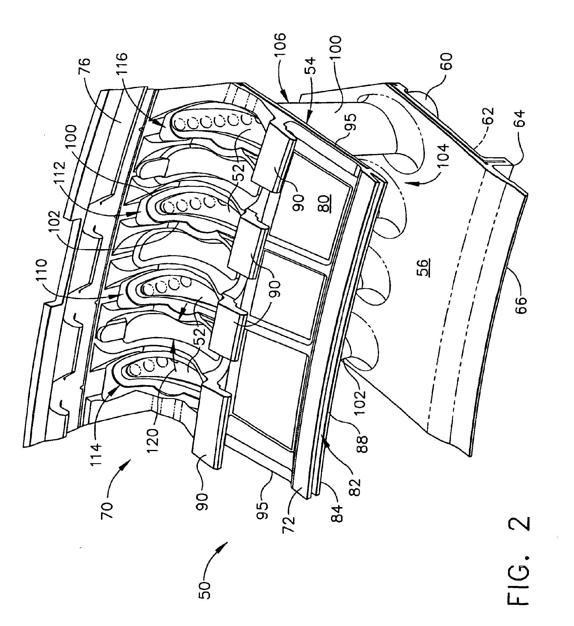 Patent EP B1 Gas turbine nozzle and gas turbine engine