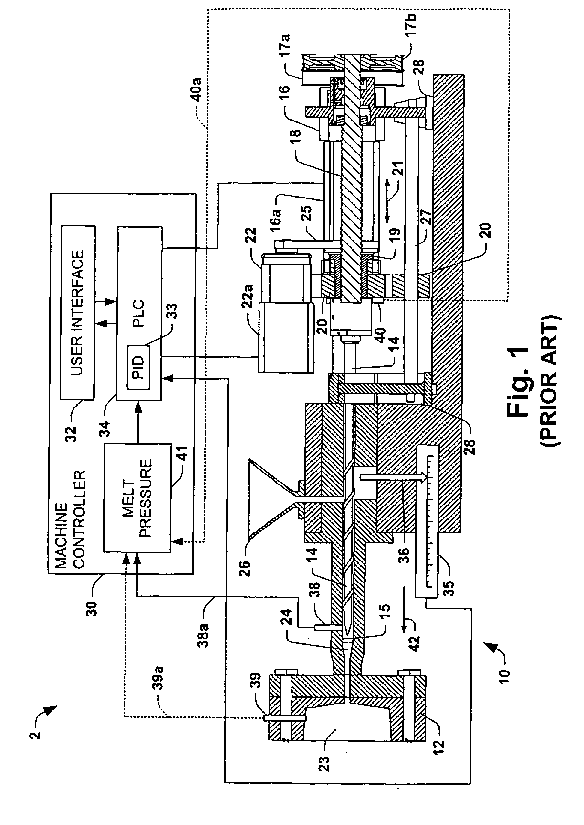 patent ep1448352b1 - melt pressure observer for electric injection molding machine
