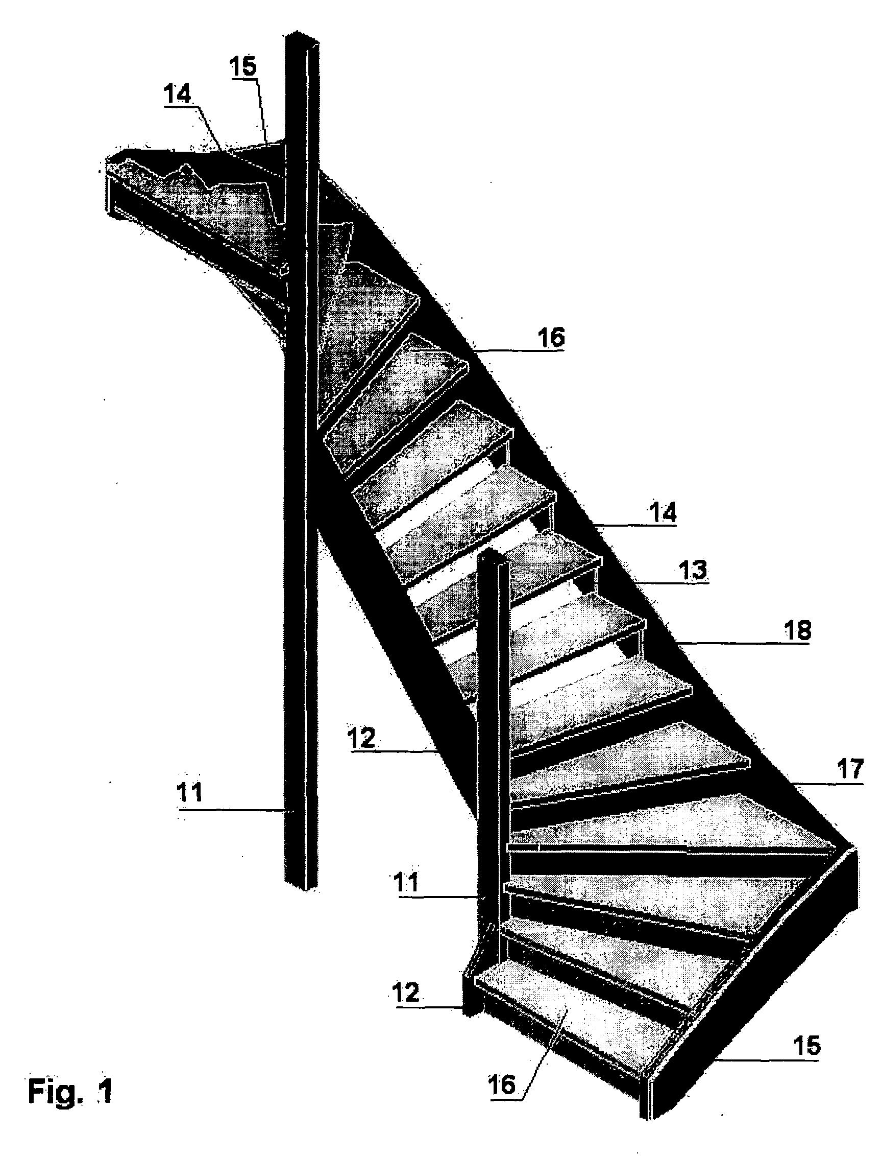 wundersch nen gewendelte treppe konstruieren haus design ideen. Black Bedroom Furniture Sets. Home Design Ideas