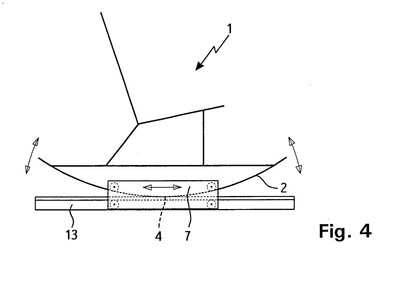 patent ep1464253a1 sitz oder liegem bel mit auf einer unterlage abrollenden kufen google. Black Bedroom Furniture Sets. Home Design Ideas