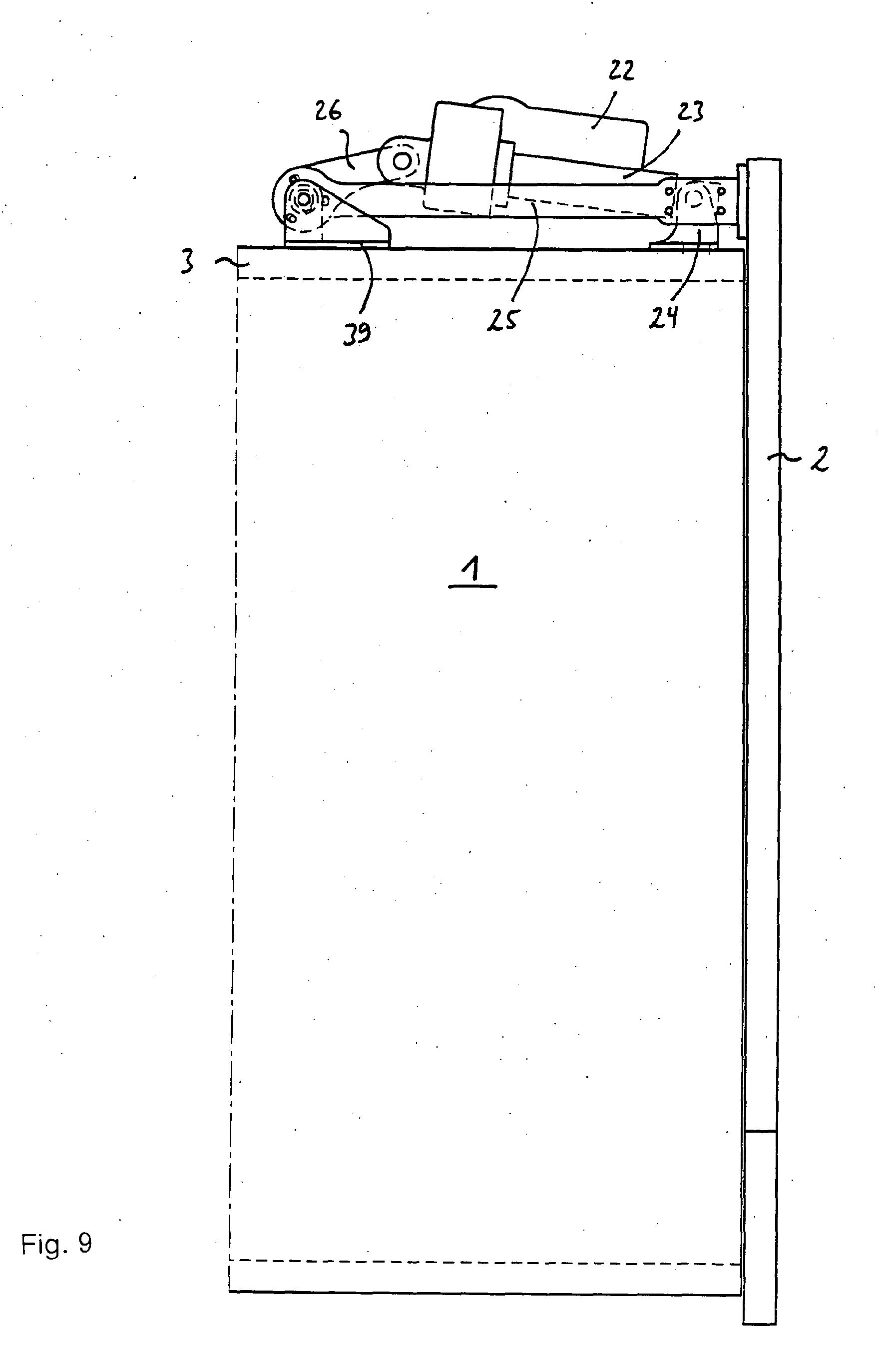 patent ep1479866a1 korpuselement mit klappe google patents. Black Bedroom Furniture Sets. Home Design Ideas