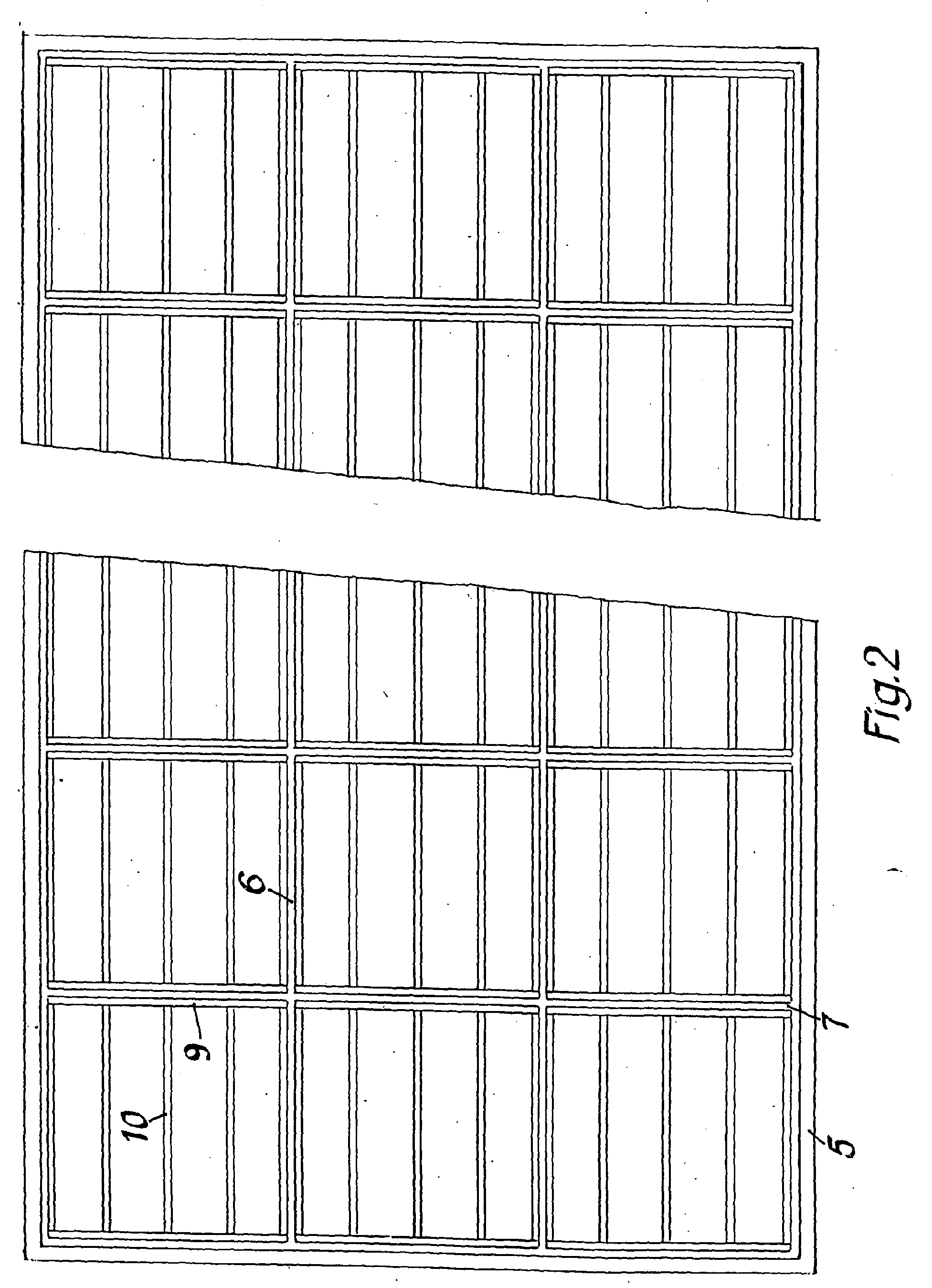 Holzskelettbauweise grundriss  Patent EP1486624A2 - Holzhaus in Holzrahmen- oder ...