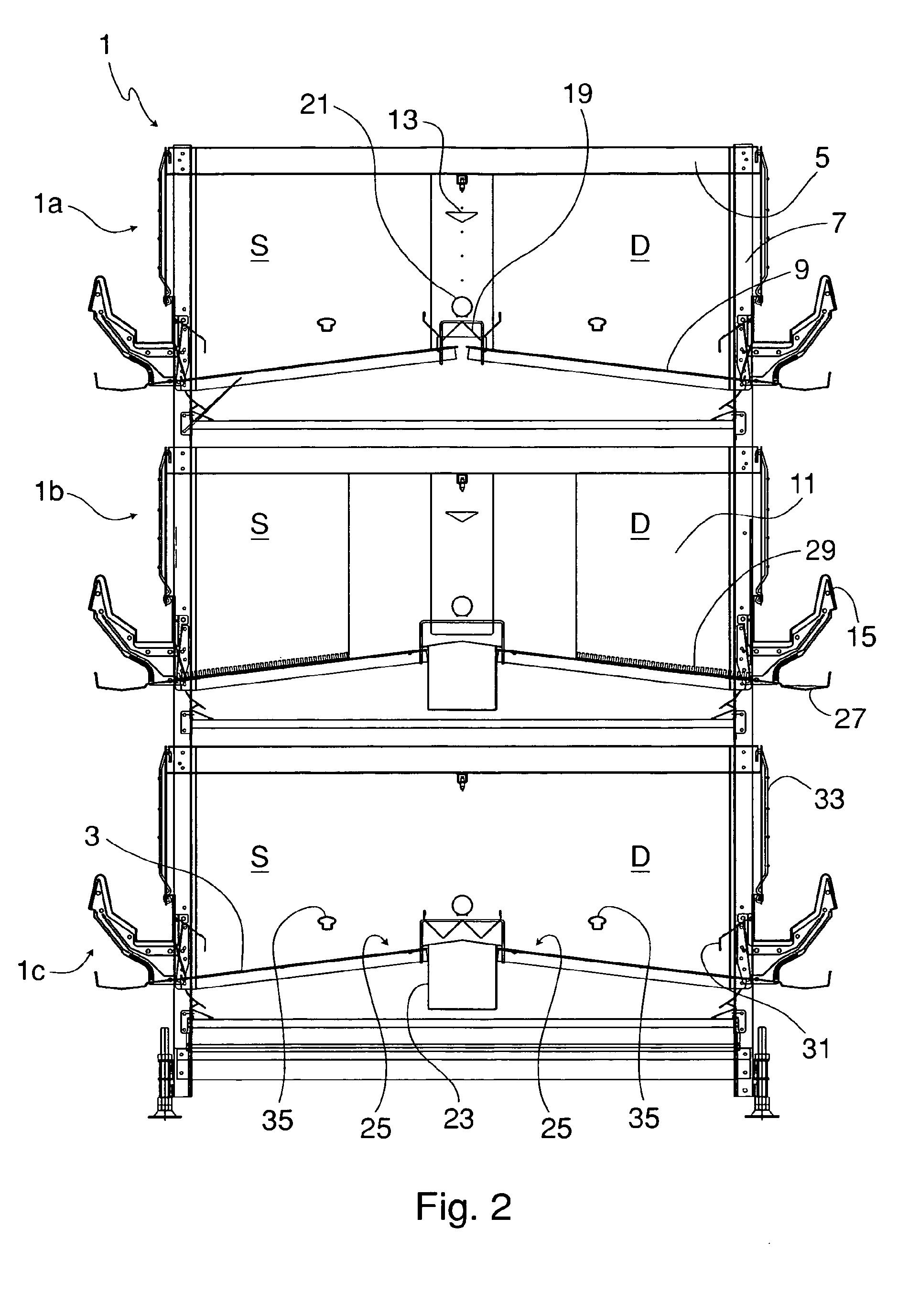 Patent ep1488695b1 cage configur e pour l 39 levage des poules pondeuses - Litiere poule pondeuse ...