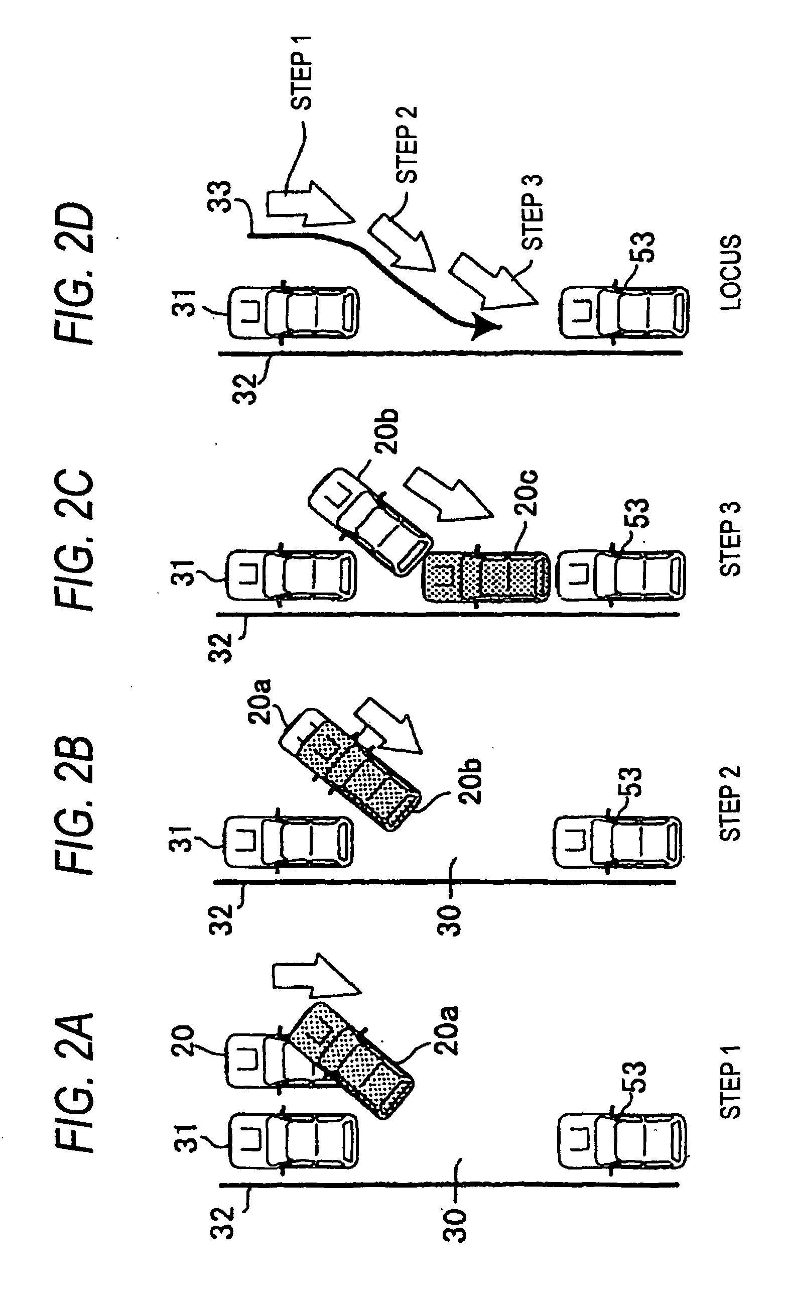Patent Ep1493632a1 - Parking Operation Assisting System
