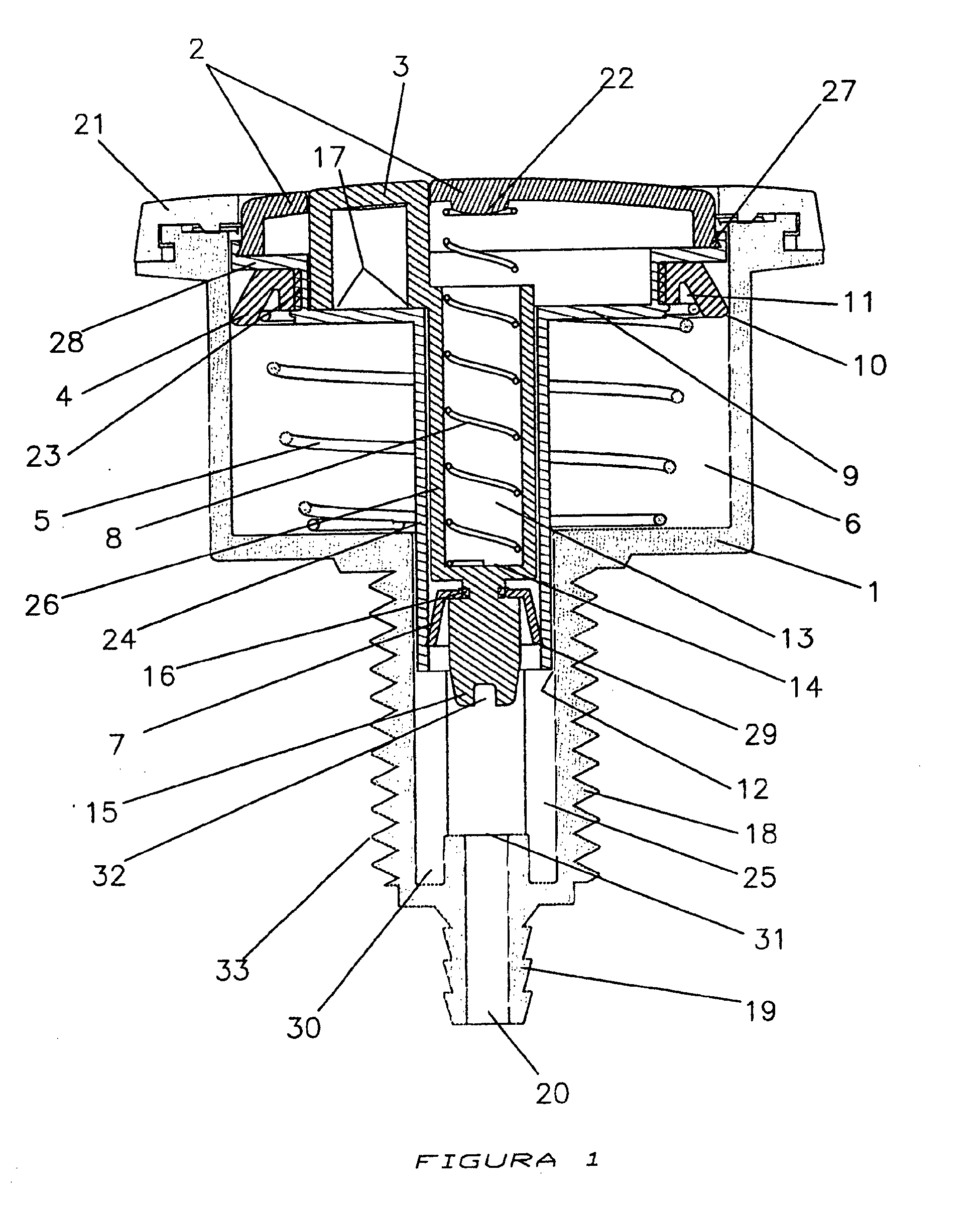 push button toilet parts. Patent Drawing EP1498553A1  Dual flush pneumatic push button for toilet