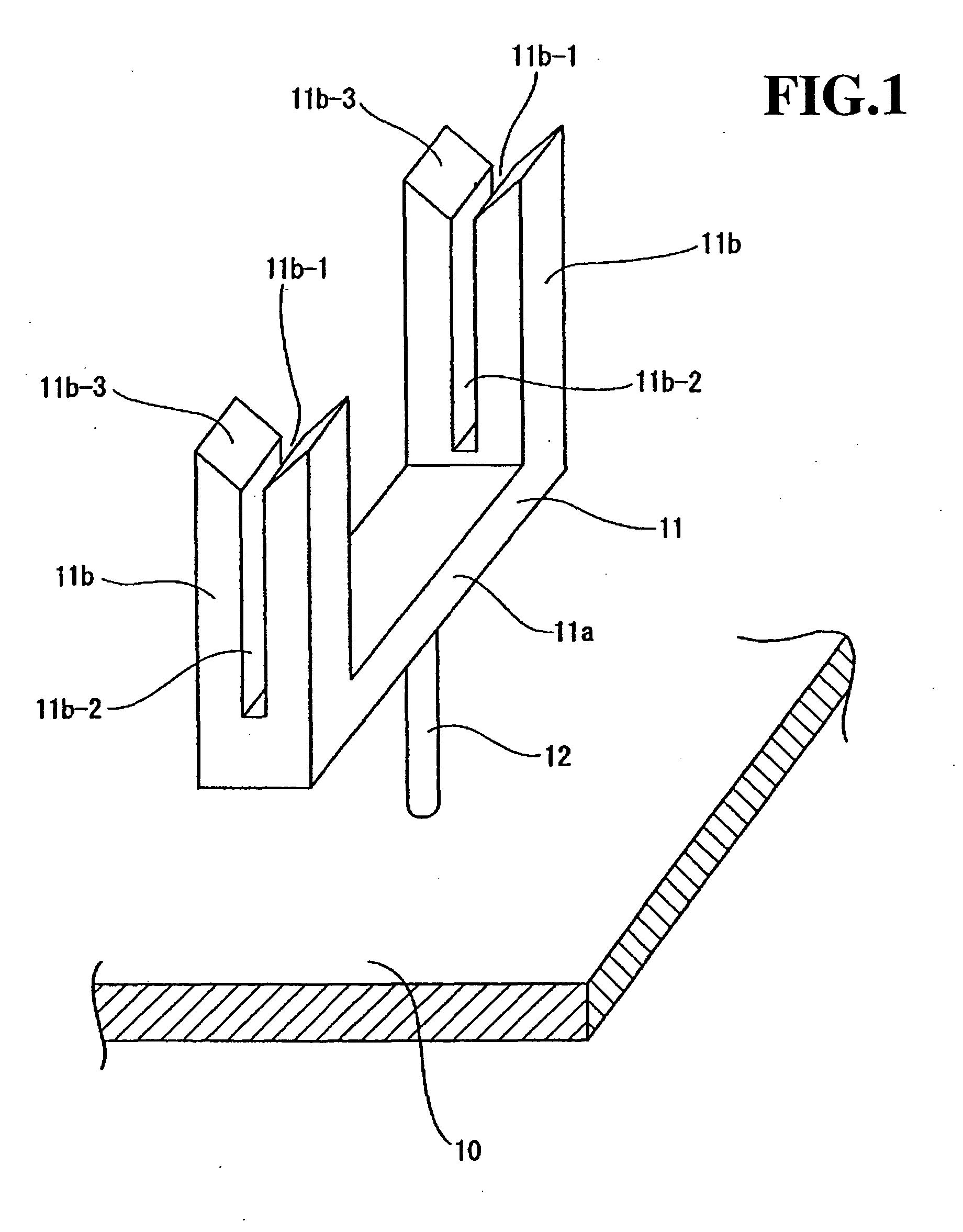 专利ep1502822a1 - méthode