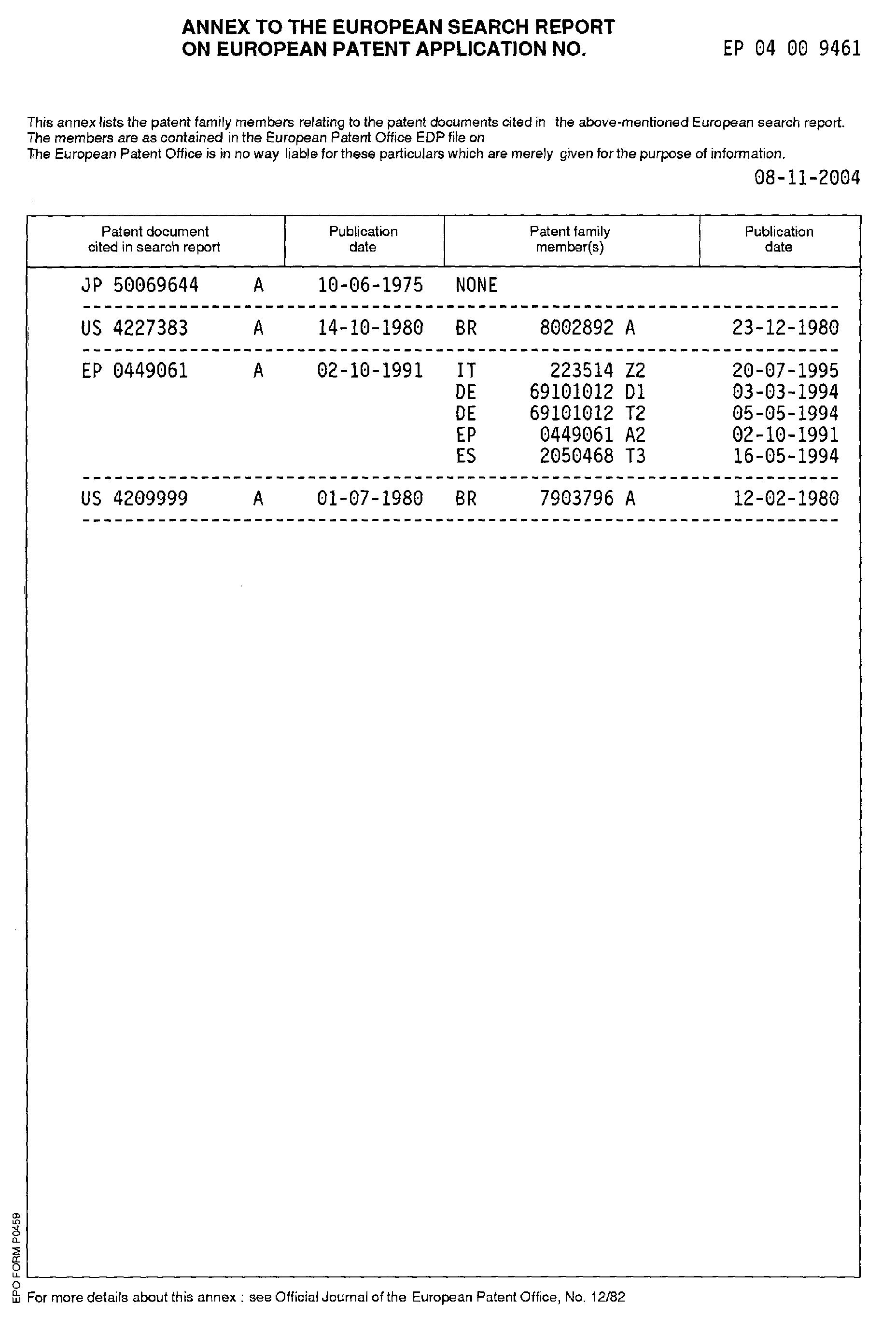 Patent EP1519131A1  Kühlschrank mit Eiserzeuger und