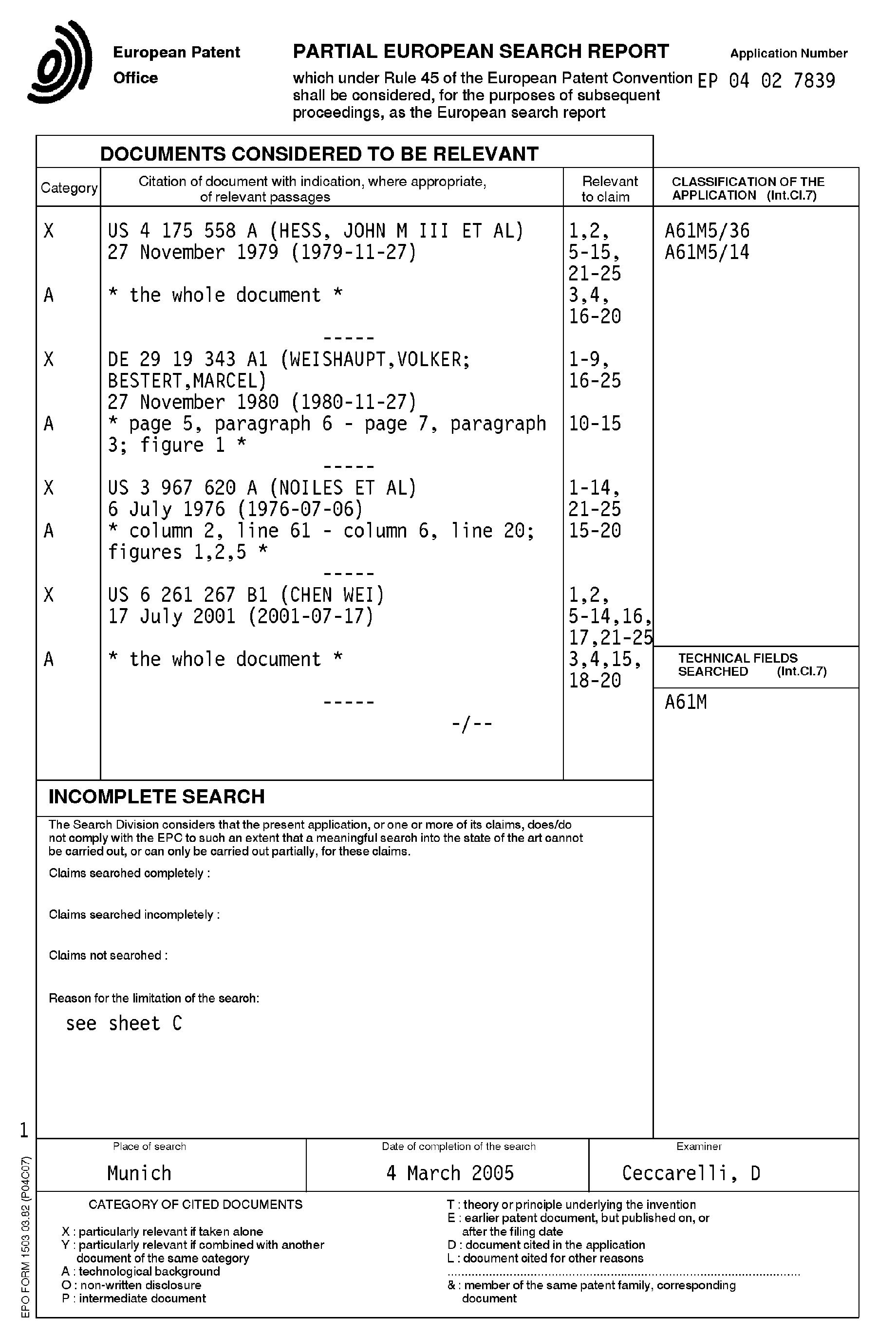 Patent EP A1 Chambre goutte  goutte avec moyens d