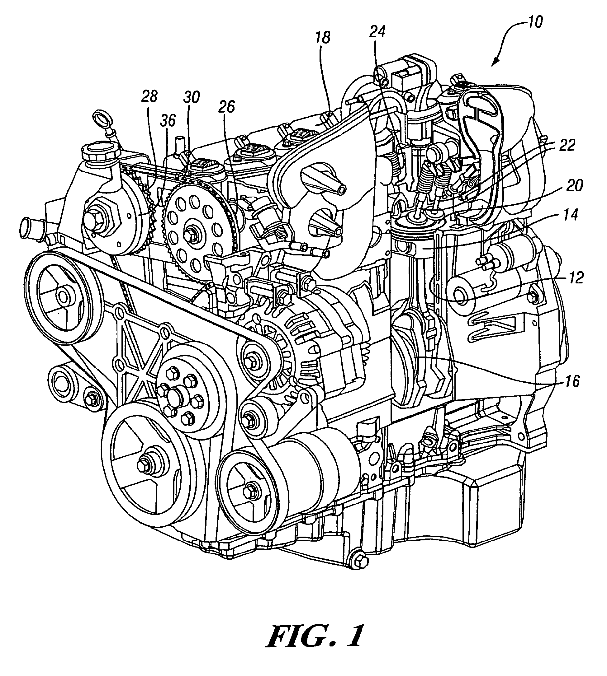 patent ep1541814b1 - diesel engine with cam phasers for in-cylinder temperature control