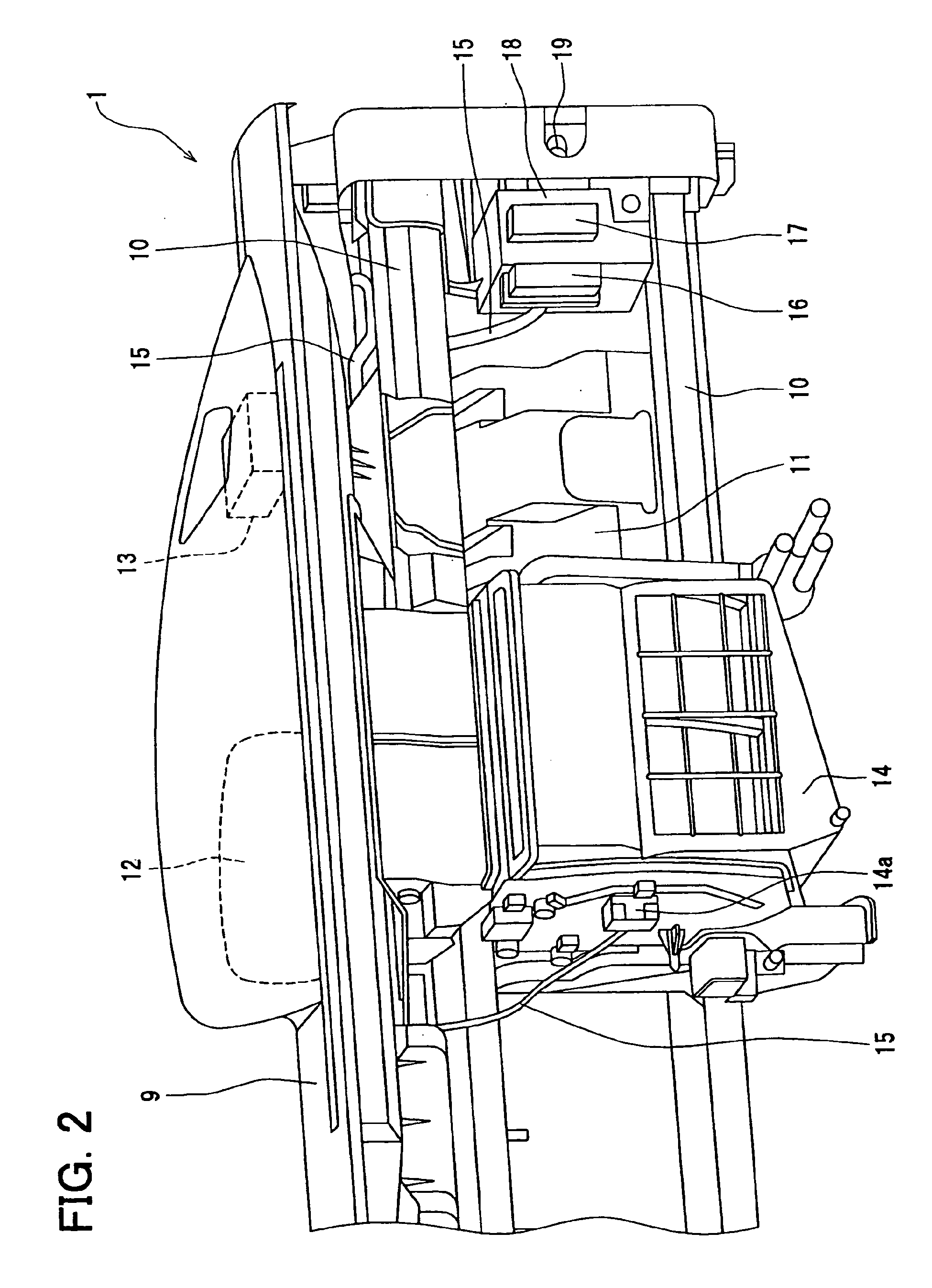 patent ep1591351b1 - electric inspection device of cockpit module assembly for vehicle