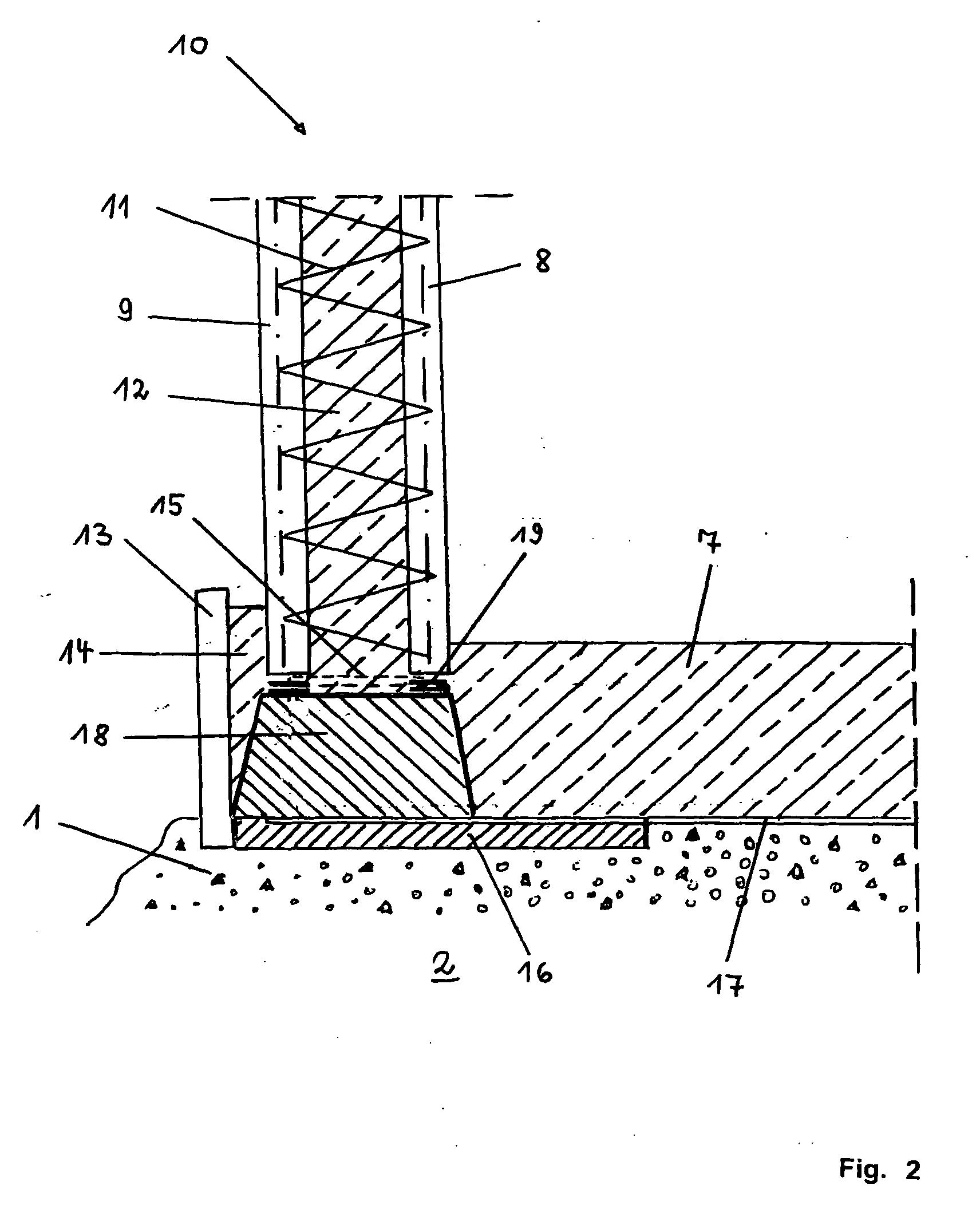patent ep1591595a2 wasserundurchl ssiger keller google patents. Black Bedroom Furniture Sets. Home Design Ideas
