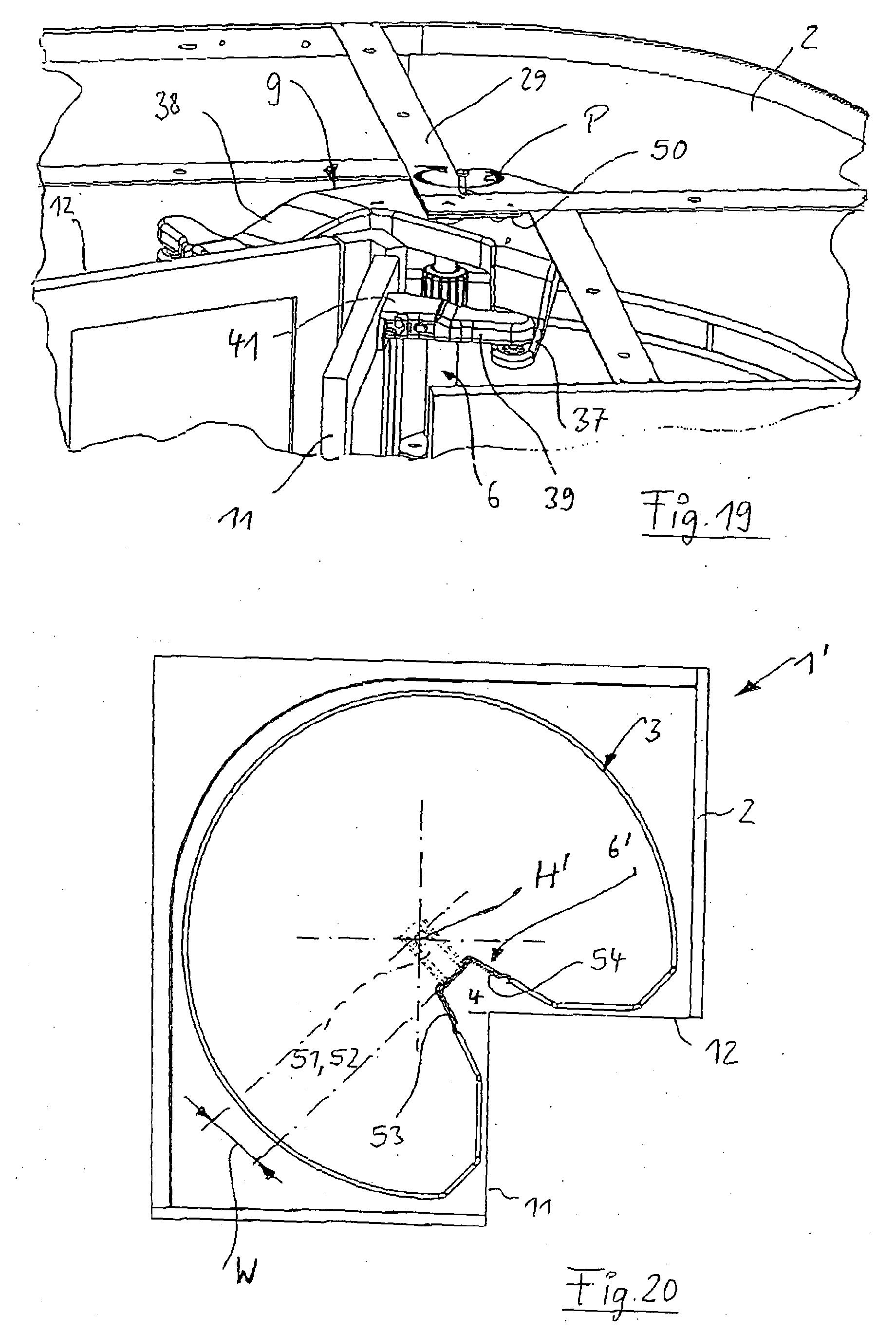patent ep1597985a1 eckschrank insbesondere k cheneckschrank google patents. Black Bedroom Furniture Sets. Home Design Ideas