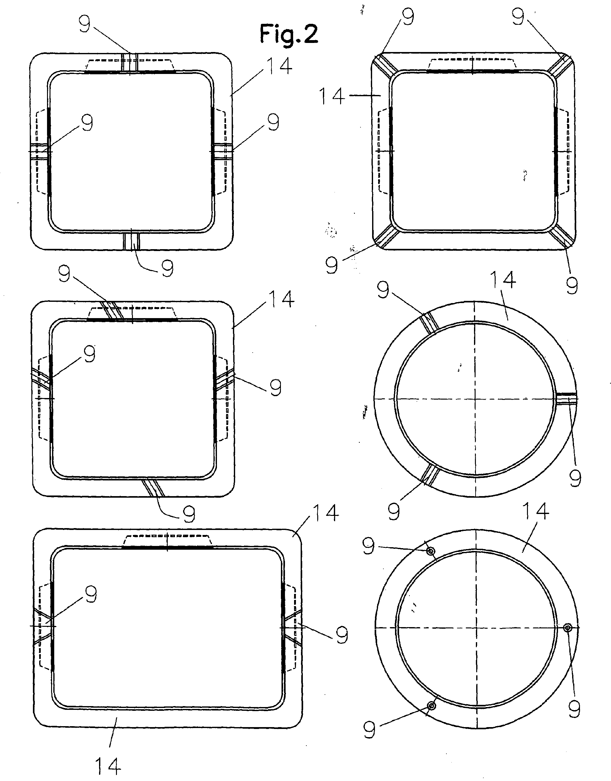 patent ep1632611a2 schachtsystem mit transport und. Black Bedroom Furniture Sets. Home Design Ideas