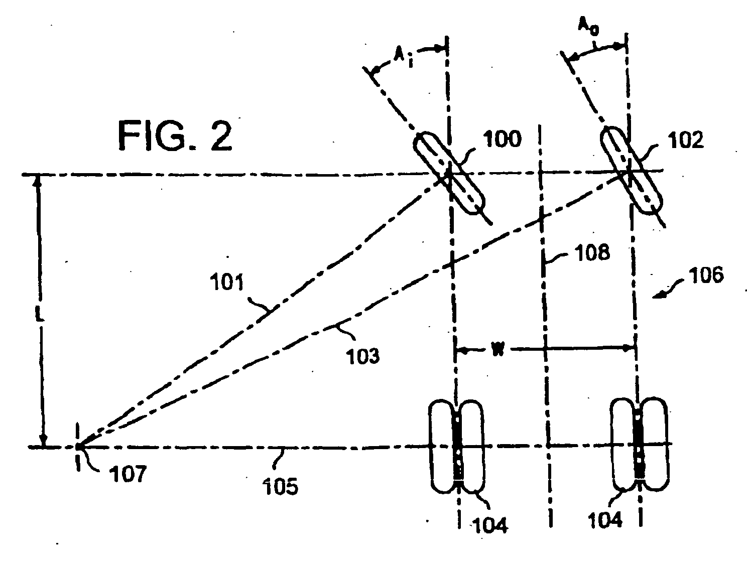 Patent Ep1652752b1 Ackerman Angle Based Vehicle Steering