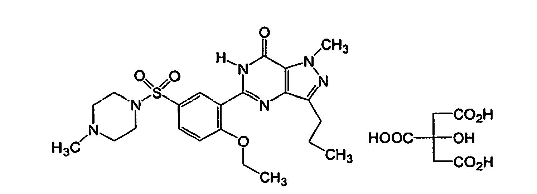Viagra chemical composition