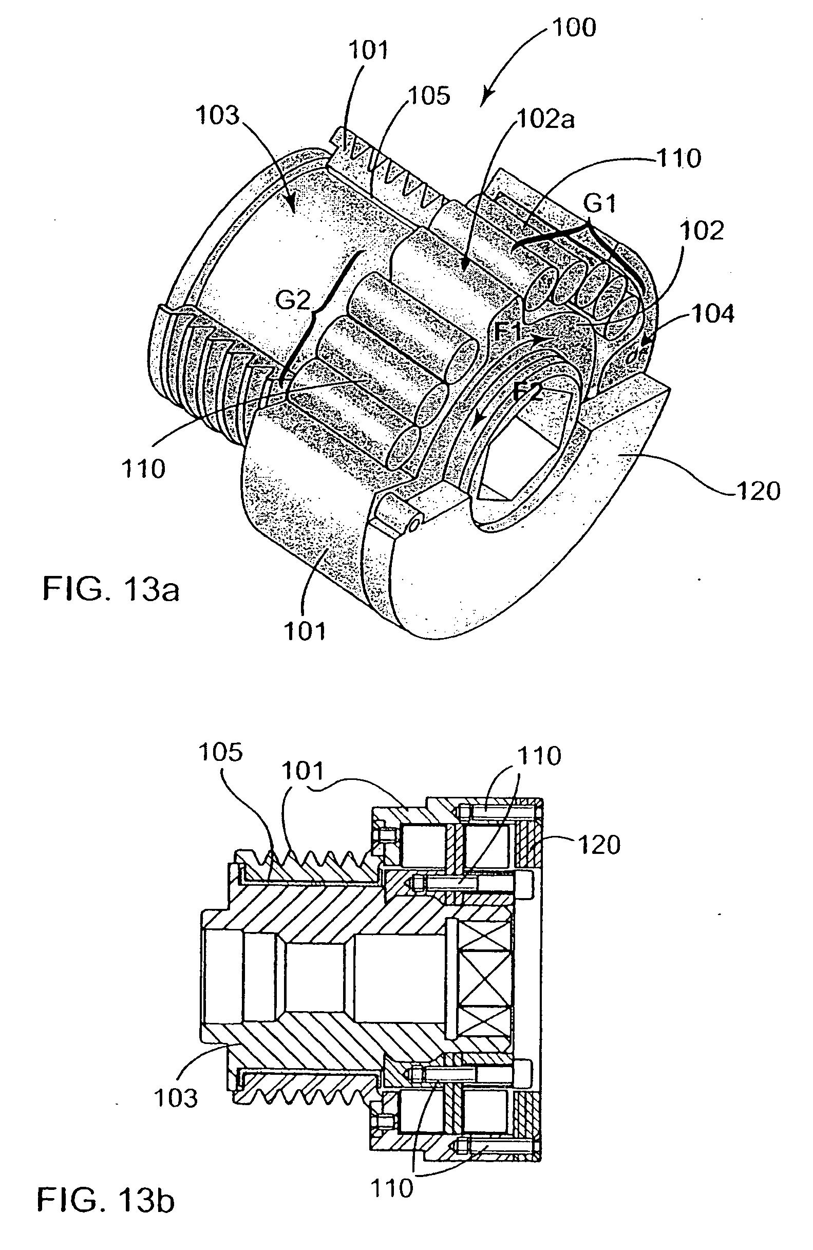 patent ep1662161b1 poulie d 39 organe de transmission de puissance alterno d marreur s par. Black Bedroom Furniture Sets. Home Design Ideas