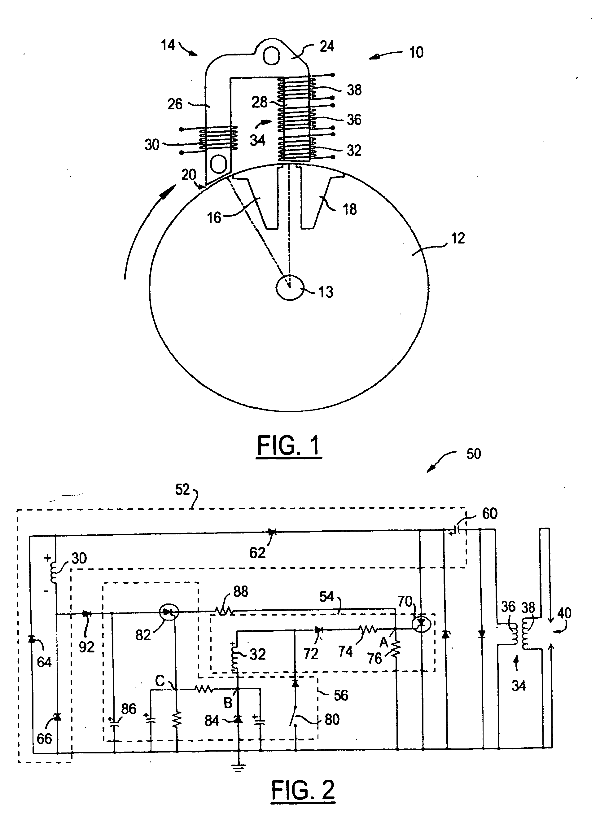 patent ep1691053b1 - control circuit for capacitor discharge ignition system