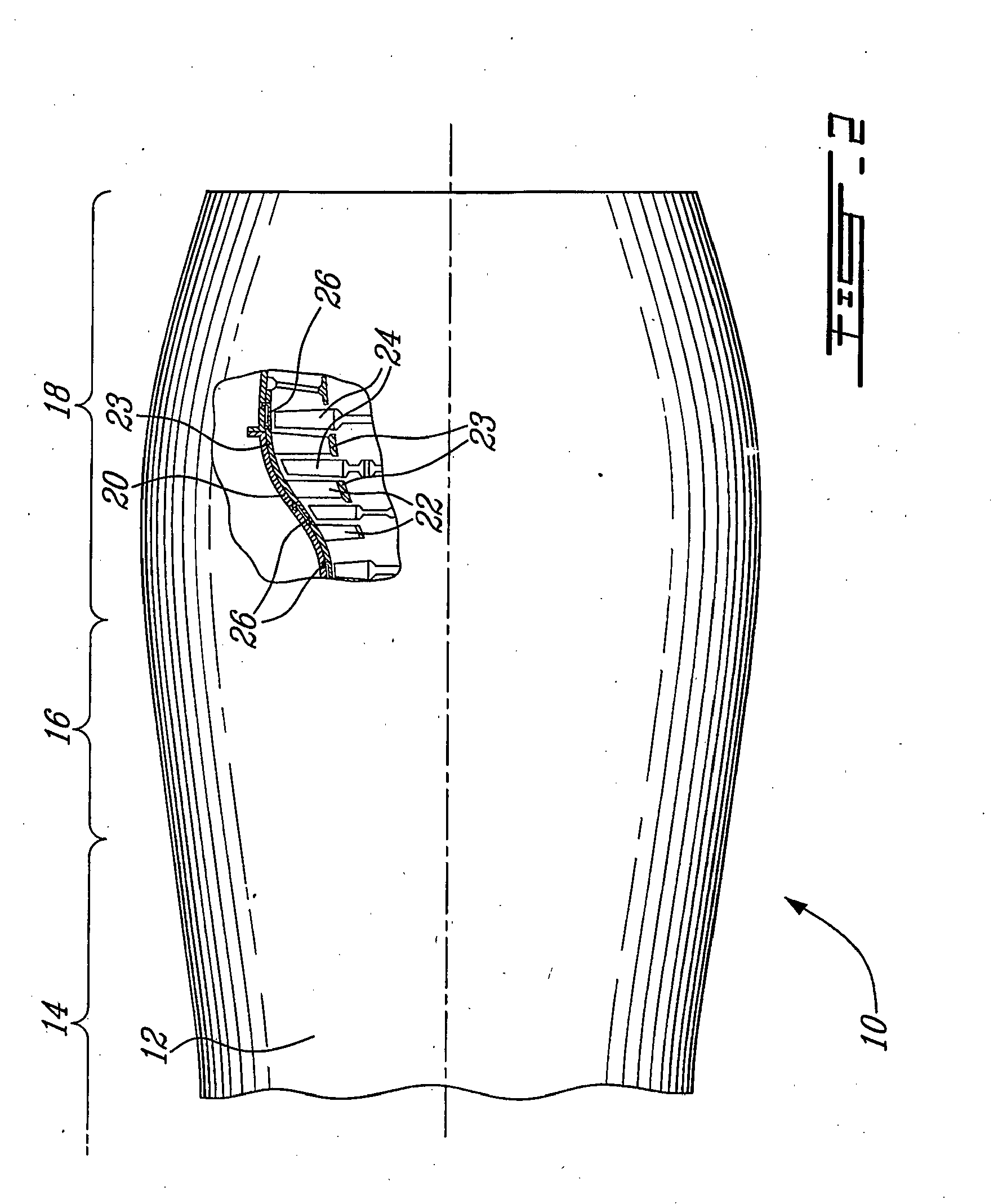 Patent EP B1 Gas turbine blade shroud with improved