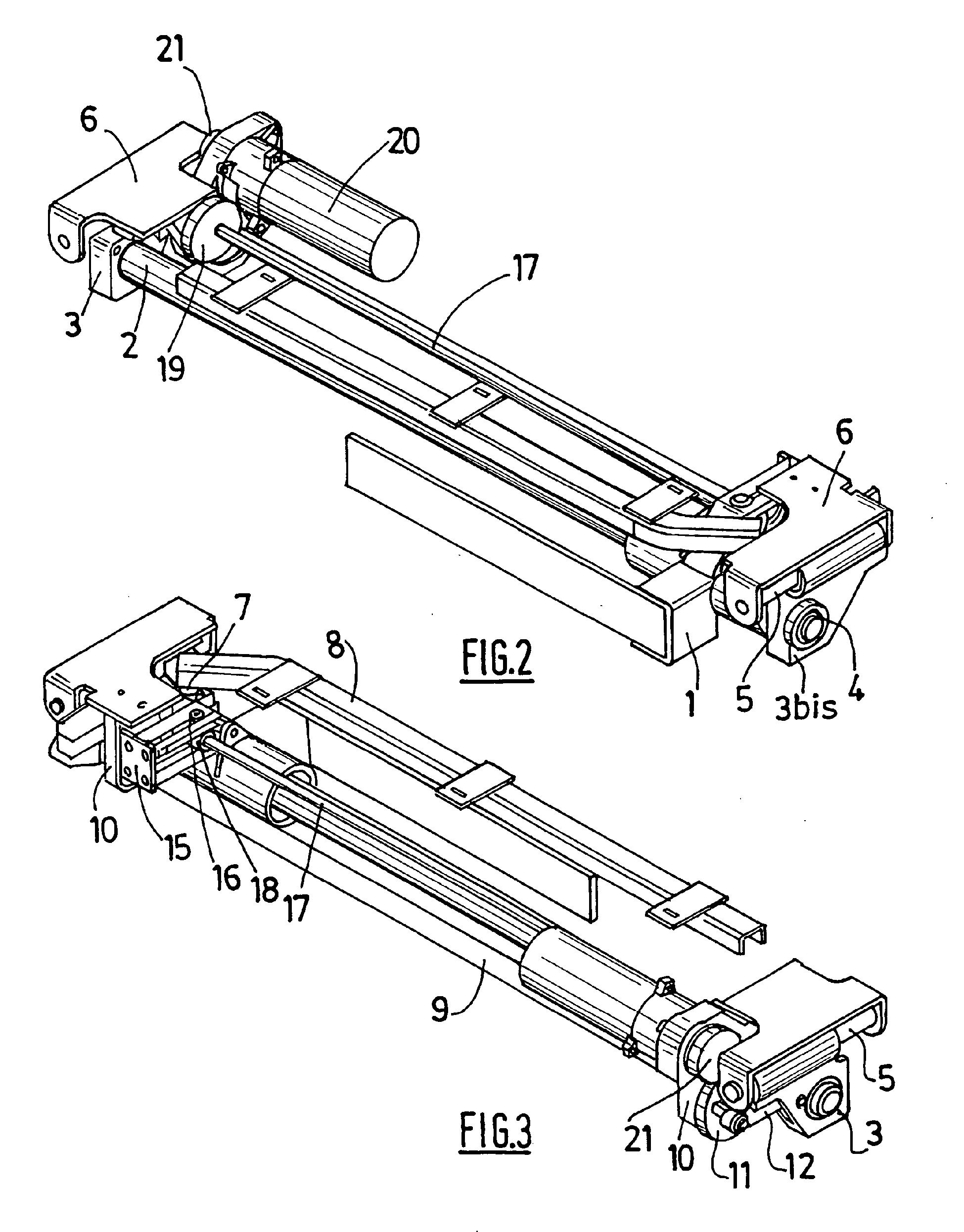 Patent ep1710381b1 porte louvoyante coulissante pour des rames ferroviaires - Porte coulissante mecanisme ...