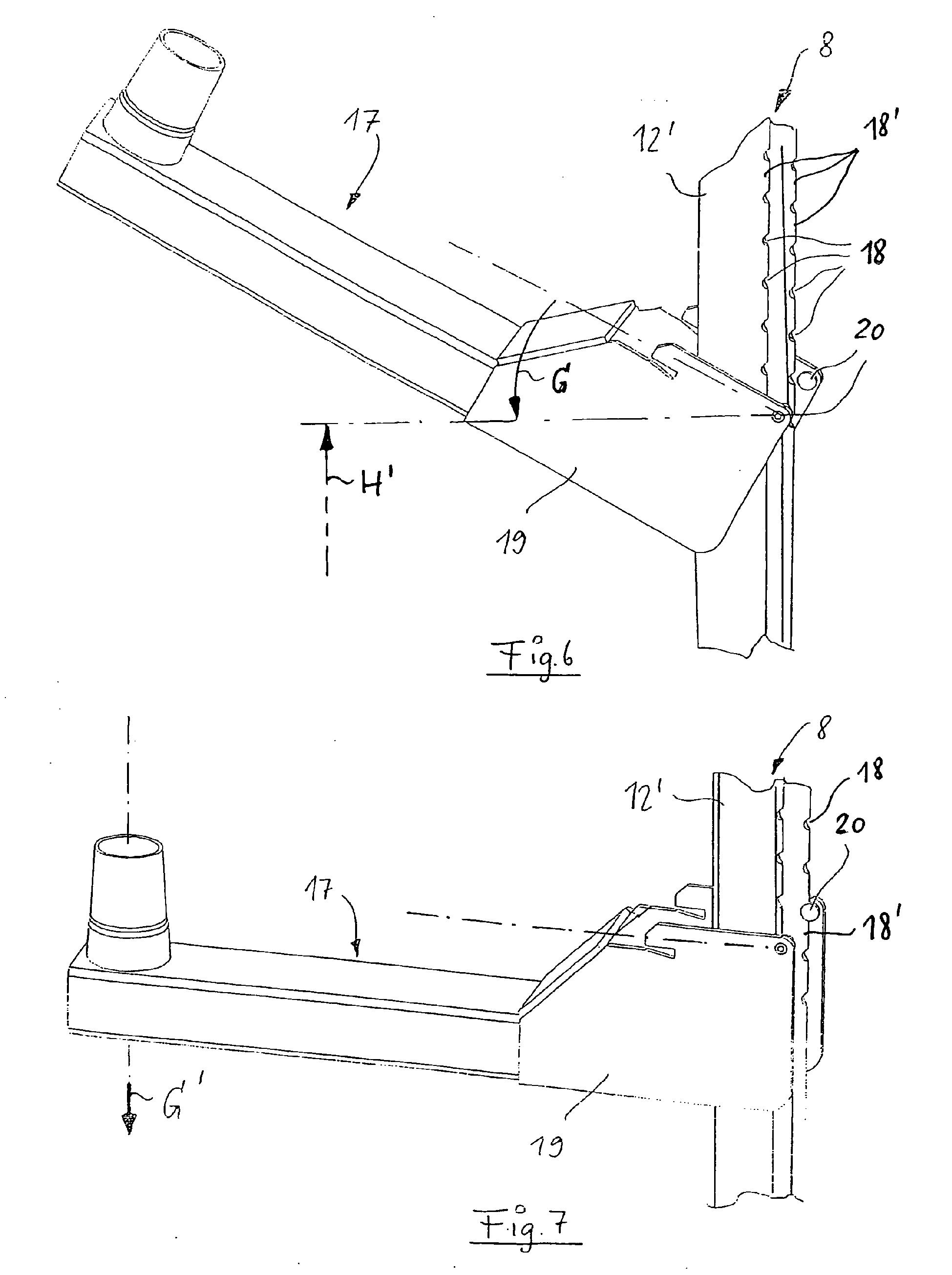 Patente EP1712153B1 - Eckschrank, insbesondere Kücheneckschrank ... | {Kücheneckschrank 11}