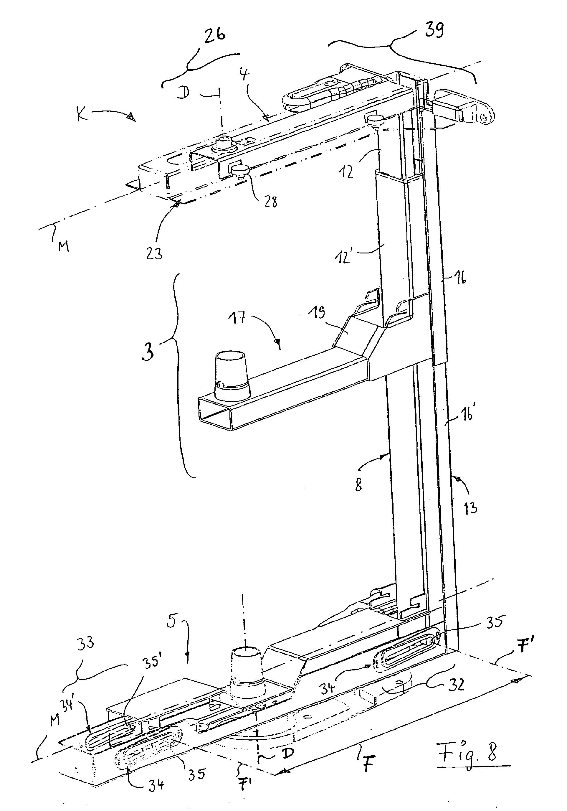 Patente EP1712153B1 - Eckschrank, insbesondere Kücheneckschrank ... | {Kücheneckschrank 12}