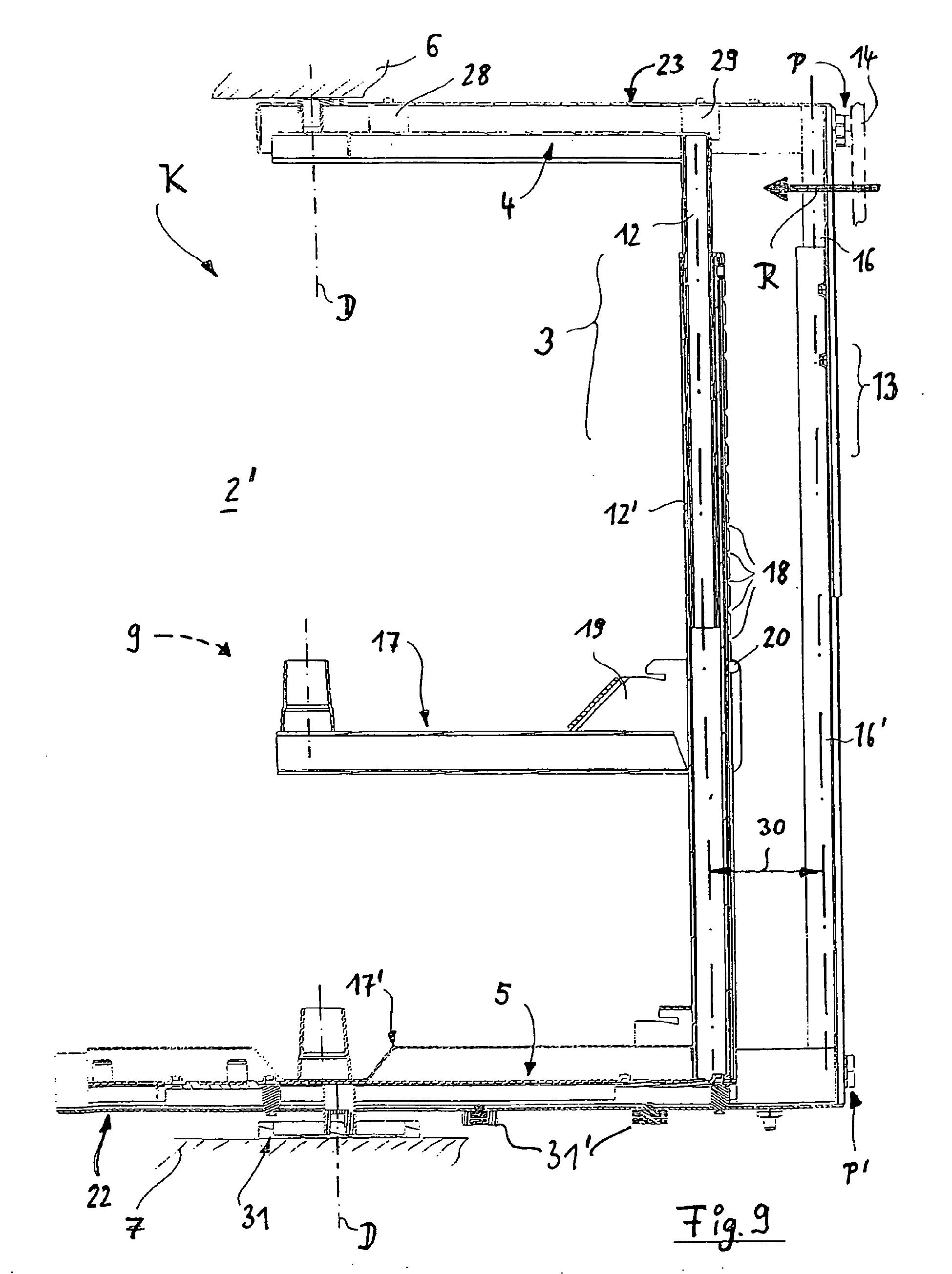 Patente EP1712153B1 - Eckschrank, insbesondere Kücheneckschrank ... | {Kücheneckschrank 7}