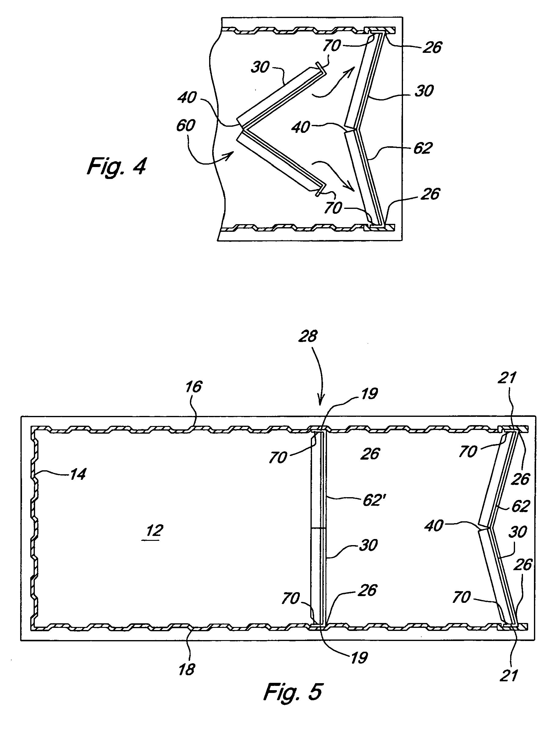 patent ep1712492b1 cloison pliable pour un conteneur de. Black Bedroom Furniture Sets. Home Design Ideas