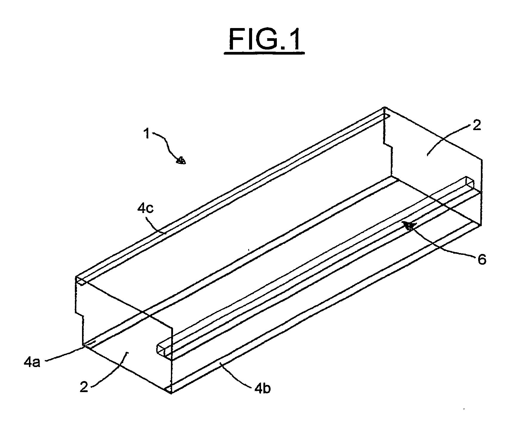 patent ep1722658b1 structure de meuble pliable en particulier lit escamotable google patents. Black Bedroom Furniture Sets. Home Design Ideas