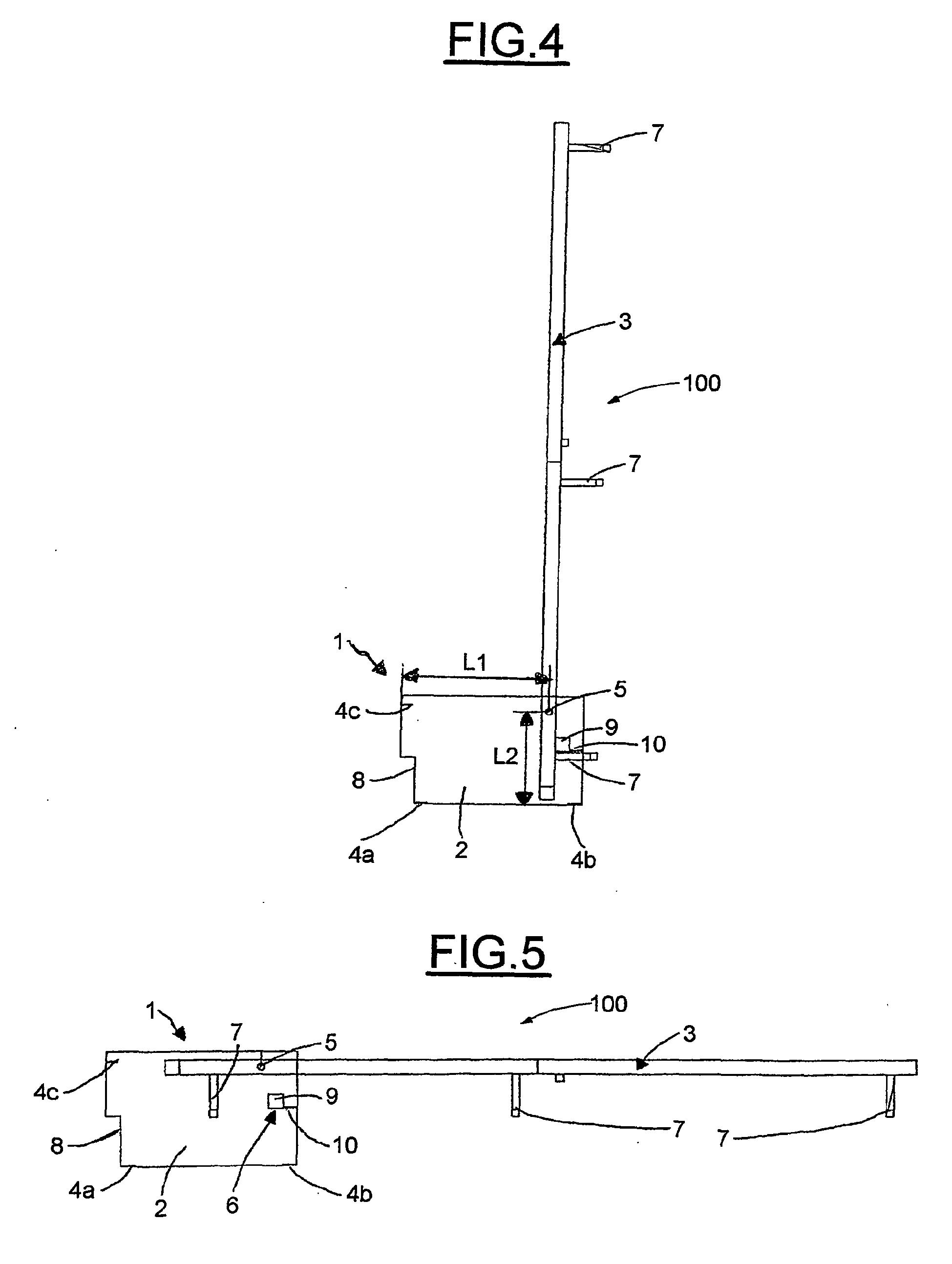 Patent ep1722658b1 structure de meuble pliable en particulier lit escamota - Structure lit escamotable ...