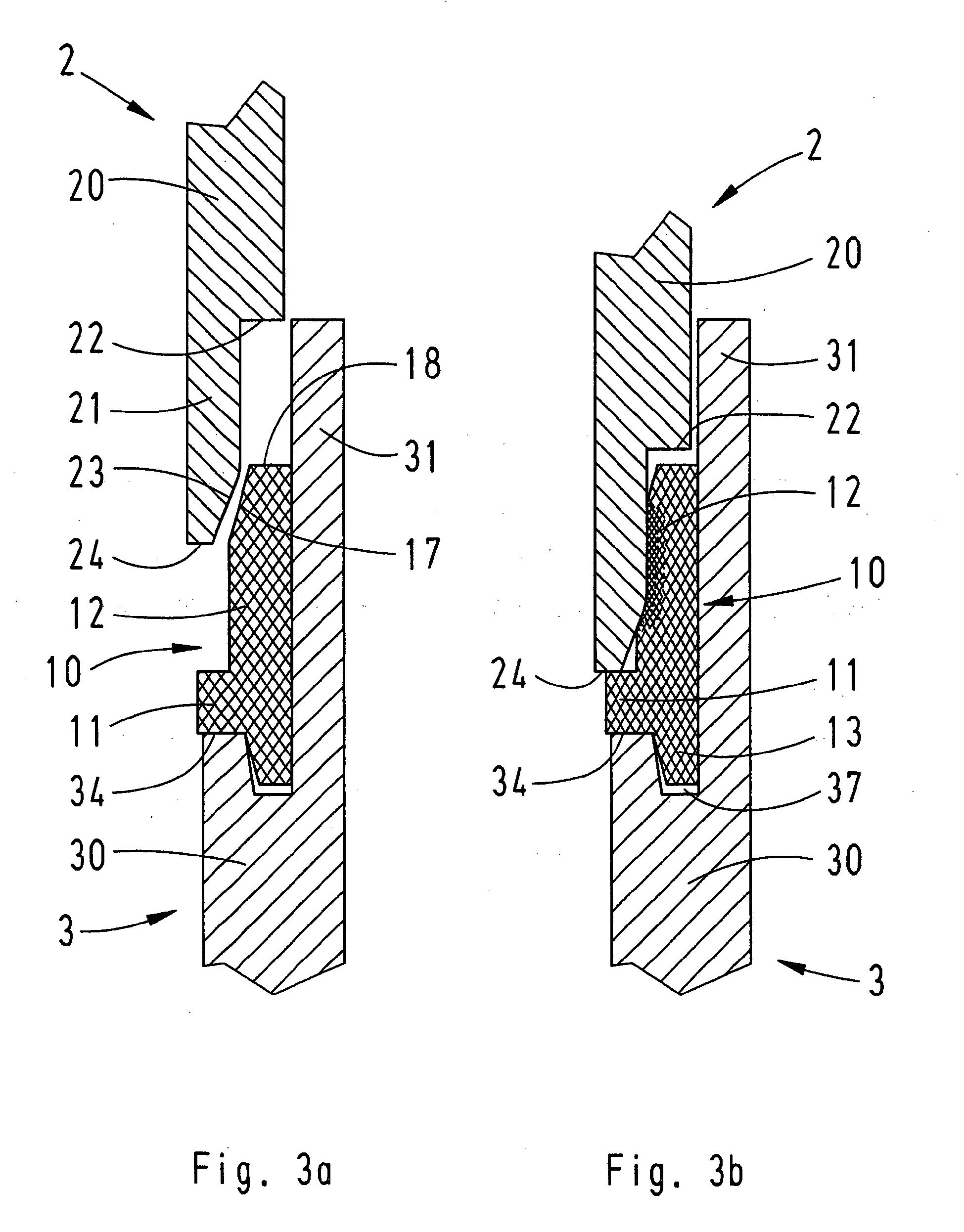 patent ep1727242a2 - geh u00e4usedichtung f u00fcr eine steckverbindung