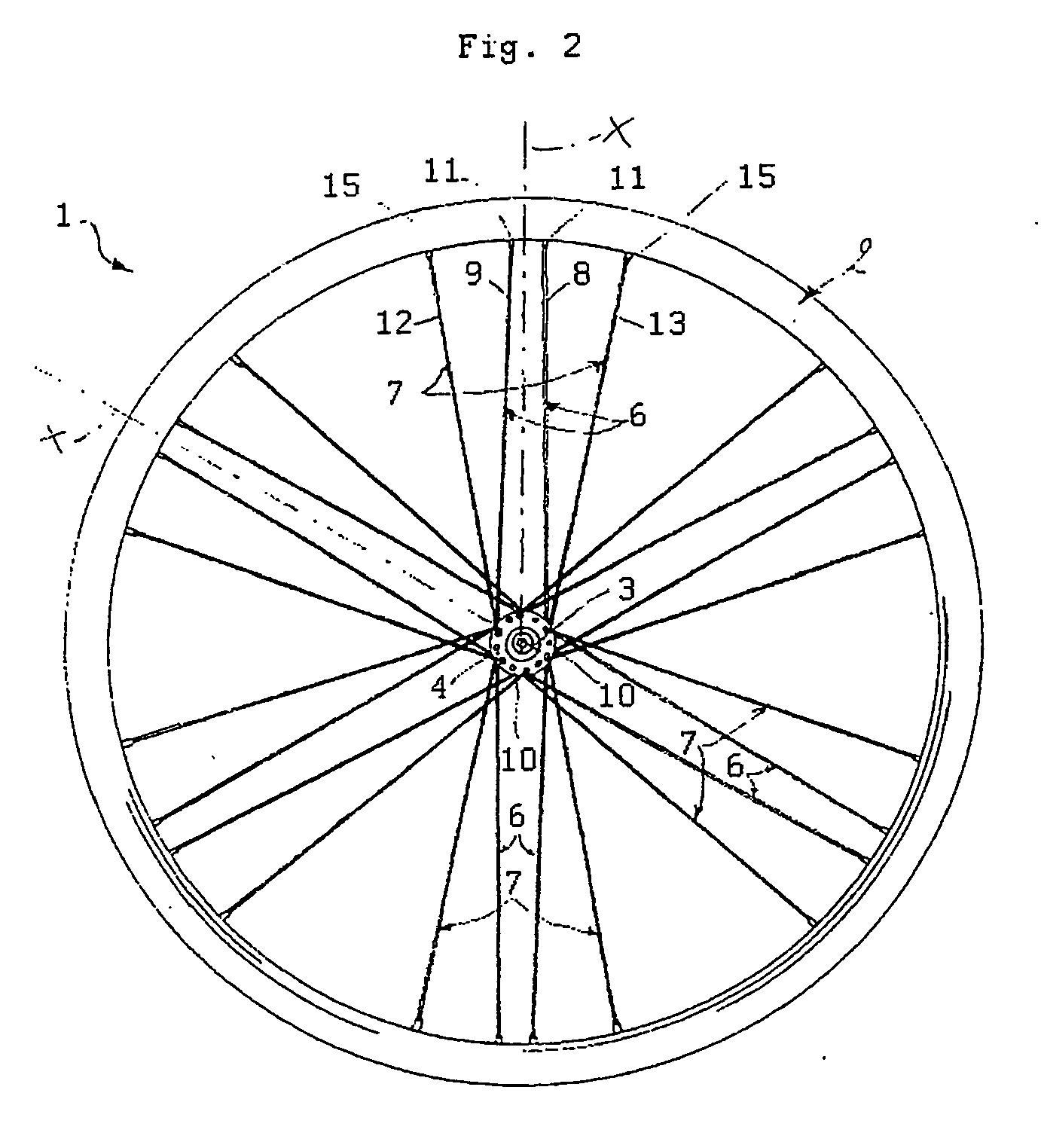 how to draw a bike wheel